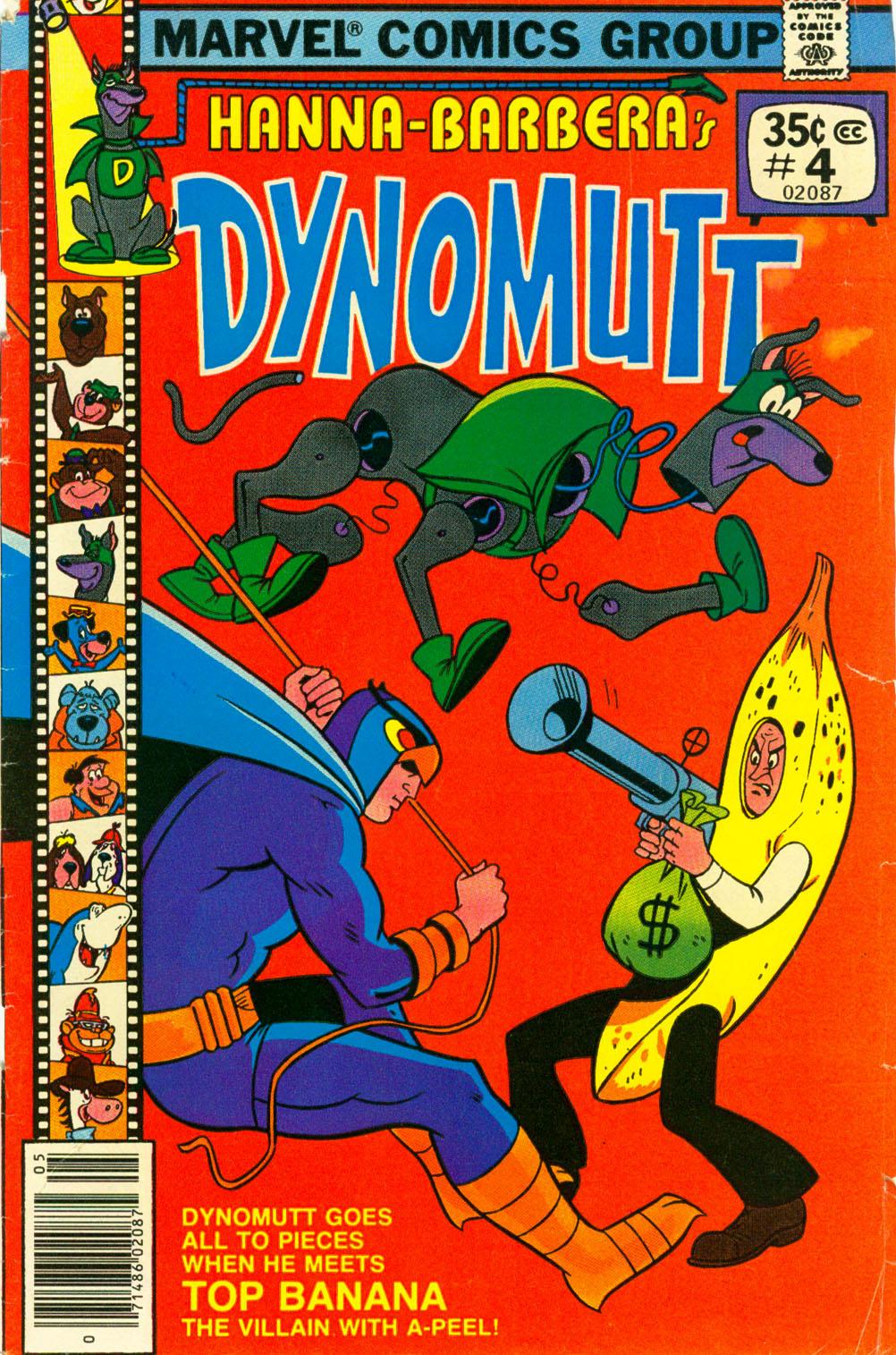 Dynomutt 4 Page 1