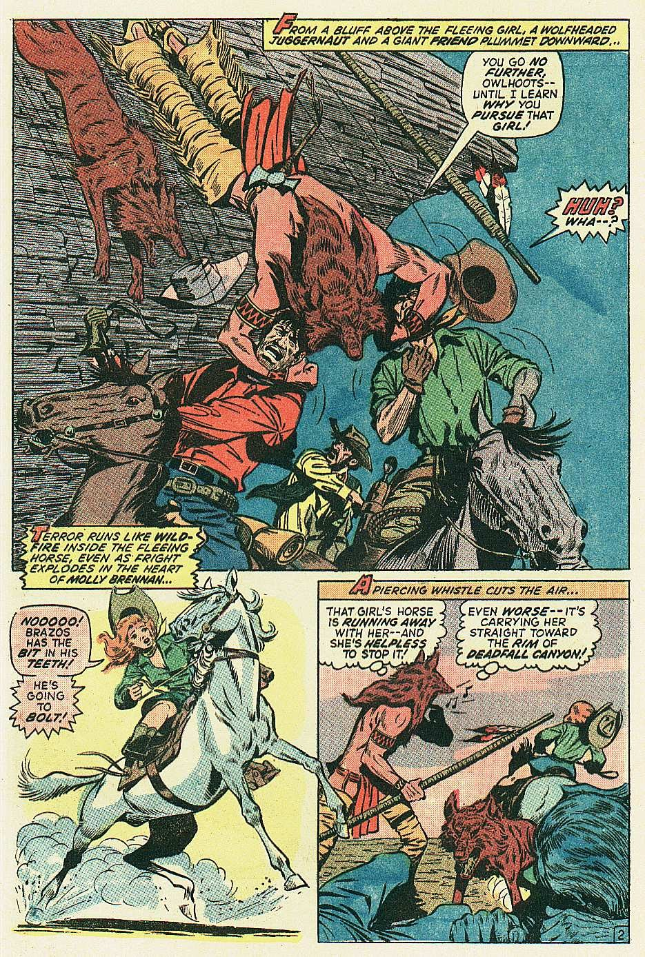 Red Wolf (1972) issue 2 - Page 3
