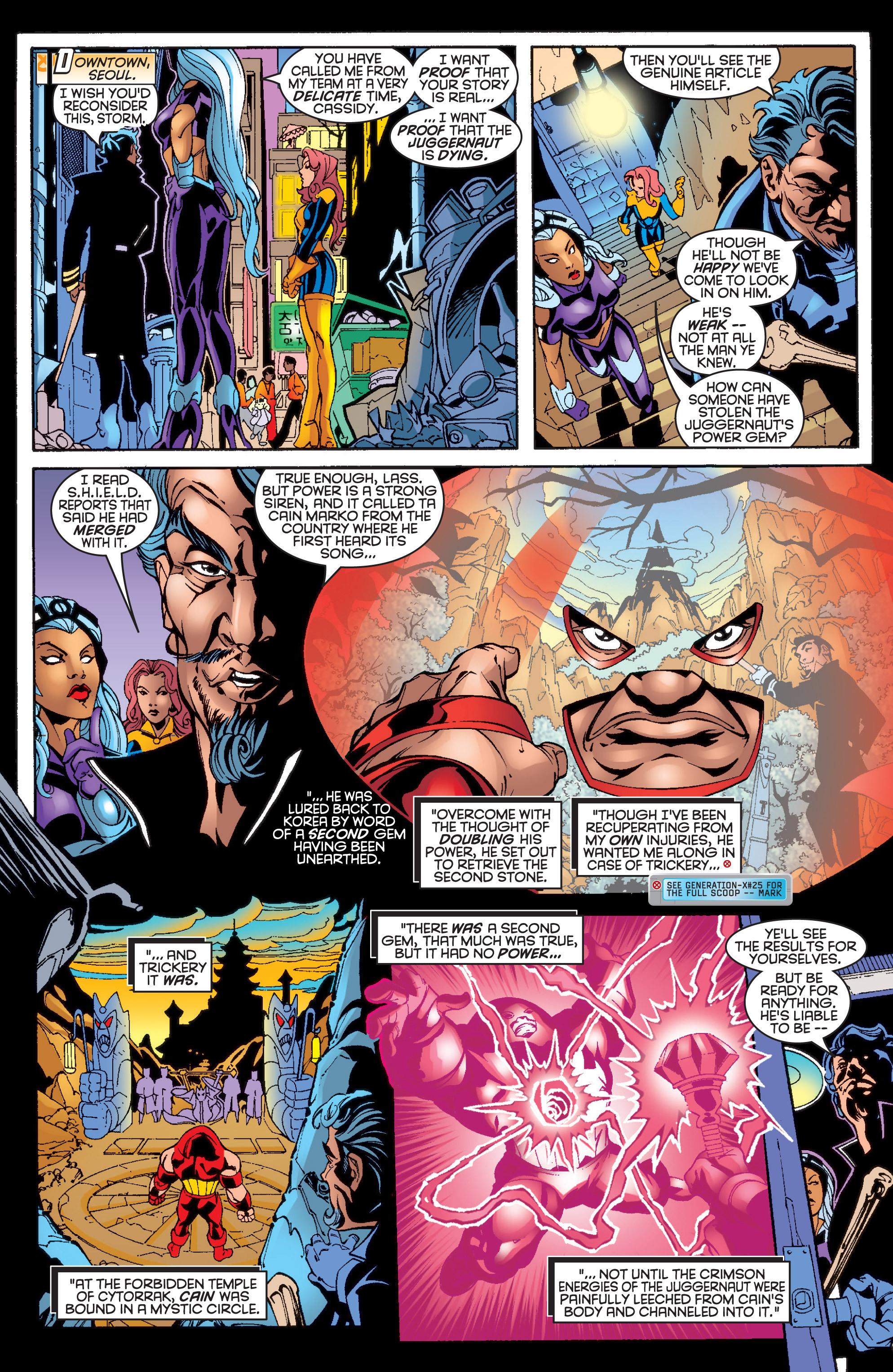 Read online Uncanny X-Men (1963) comic -  Issue #361 - 9