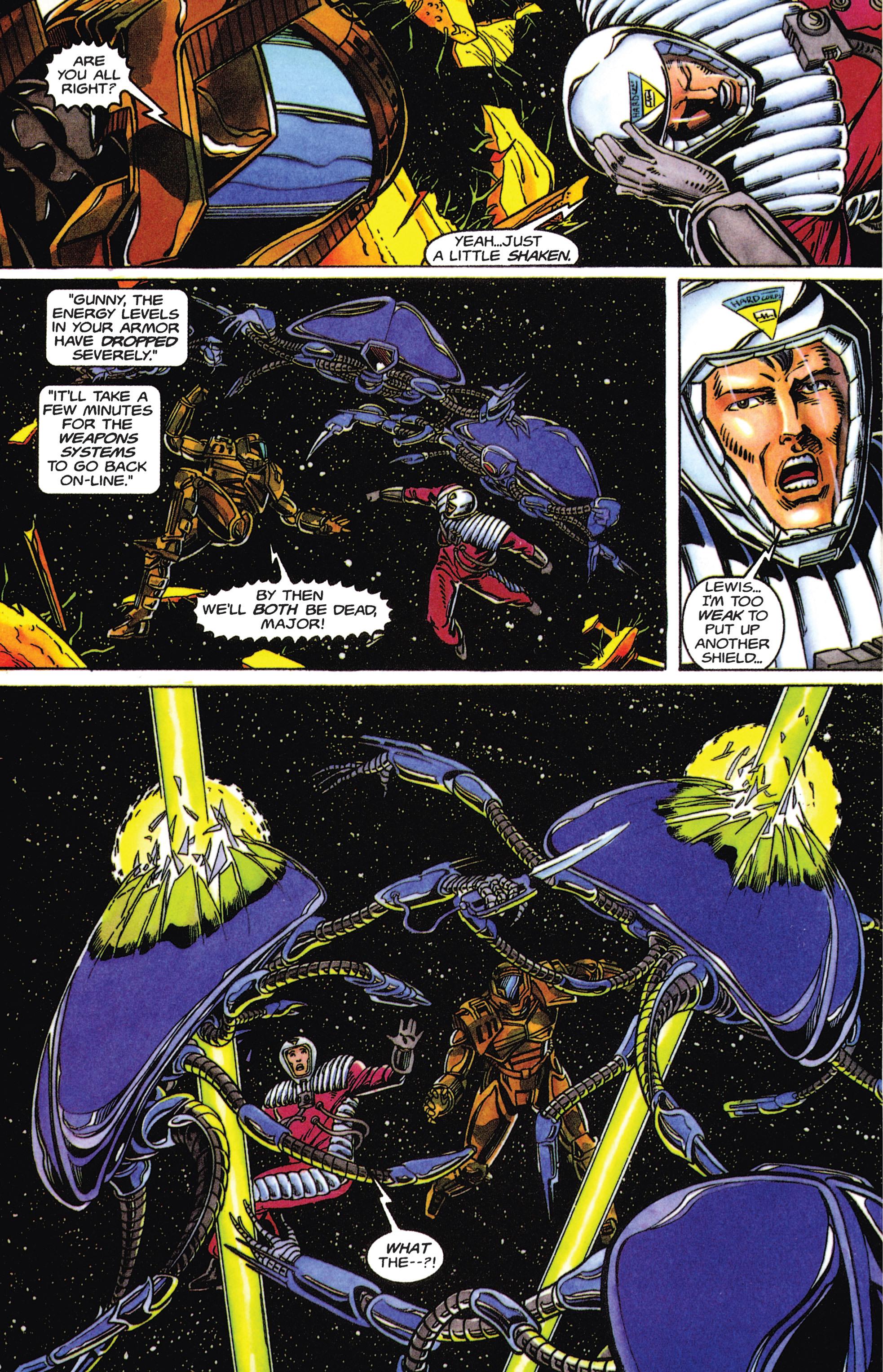 Read online Armorines comic -  Issue #5 - 18