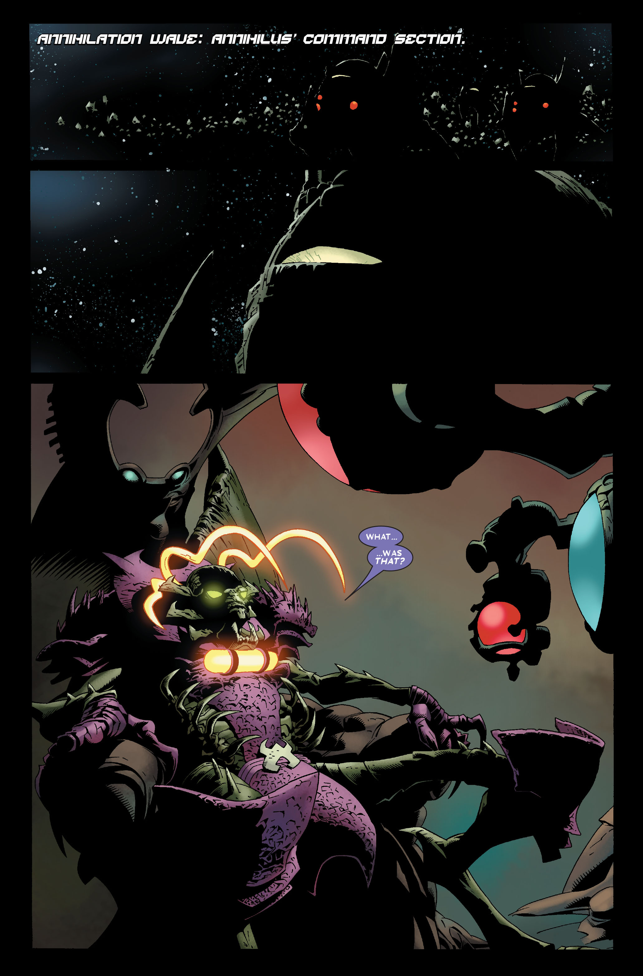 Read online Annihilation: Nova comic -  Issue #1 - 22