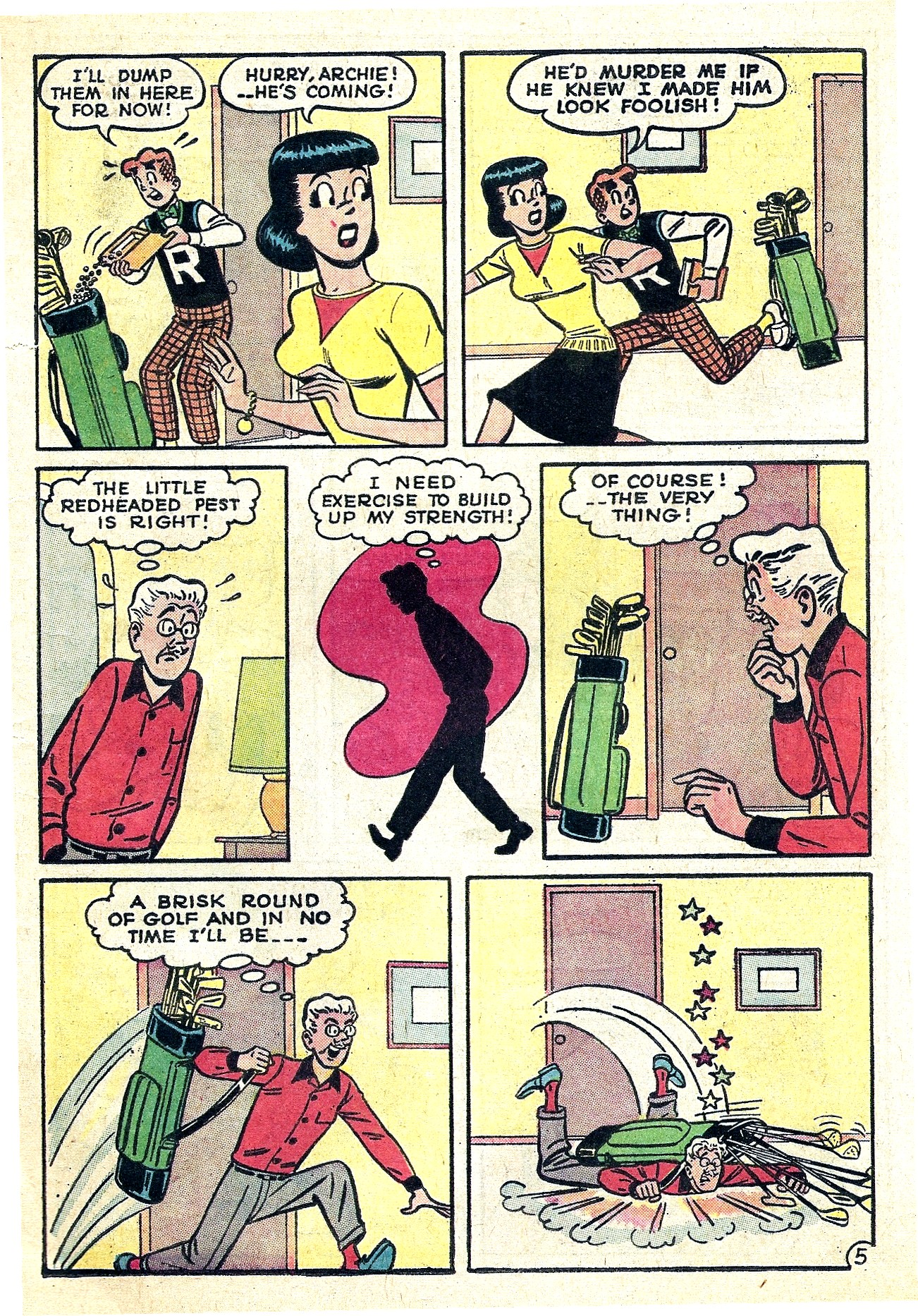 Read online Archie (1960) comic -  Issue #130 - 17