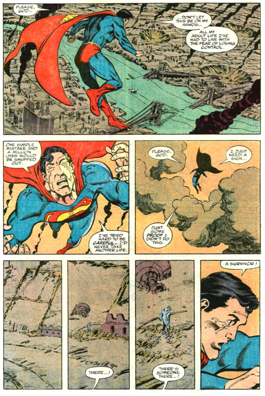 Read online Adventures of Superman (1987) comic -  Issue #479 - 13