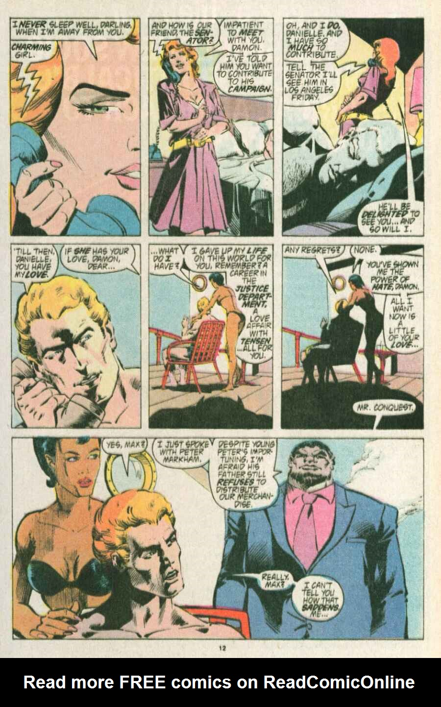 Read online Justice (1986) comic -  Issue #13 - 13