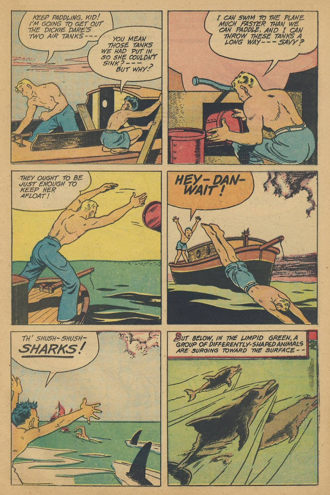 Read online Famous Funnies comic -  Issue #150 - 31