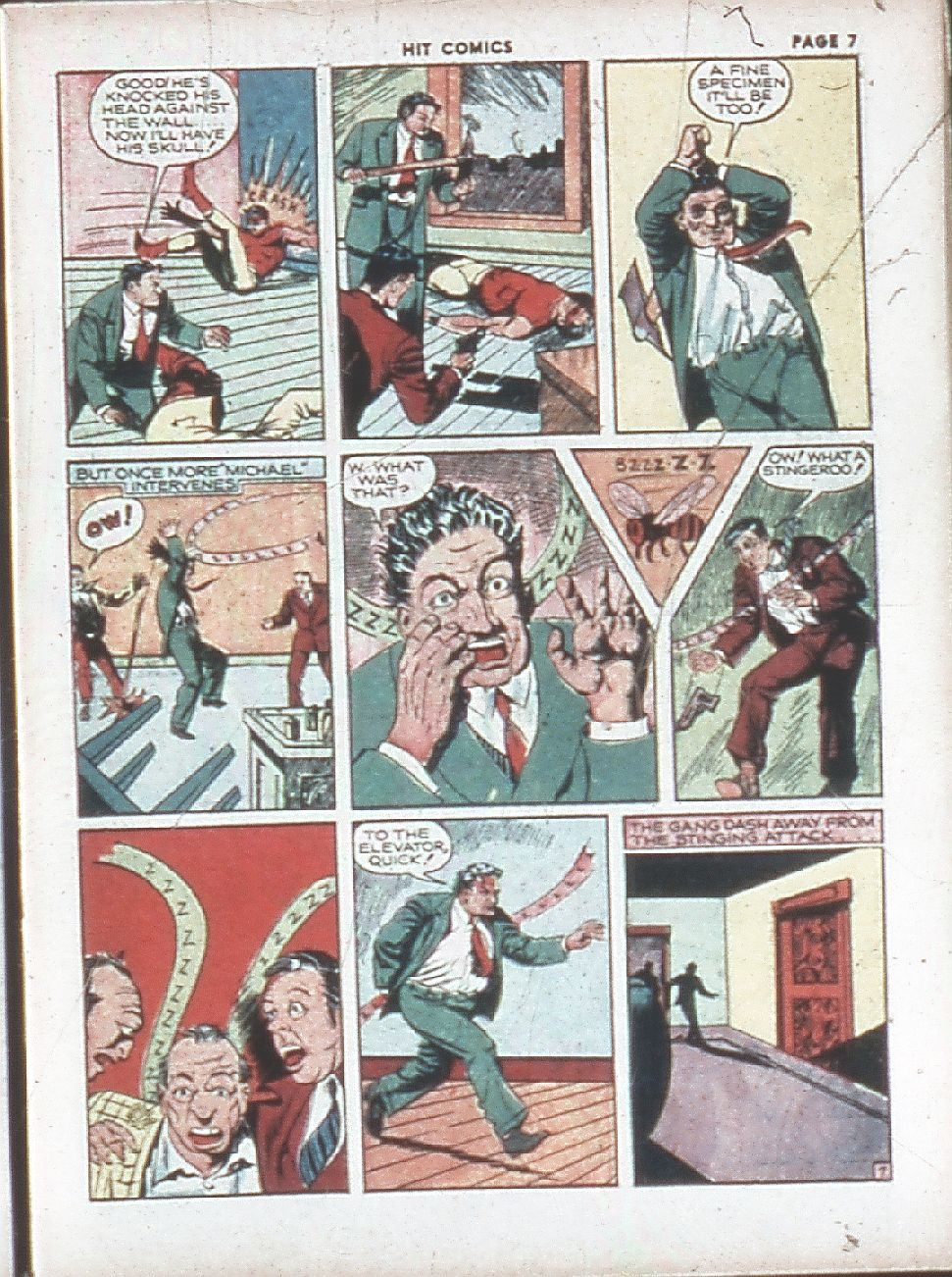 Read online Hit Comics comic -  Issue #7 - 9