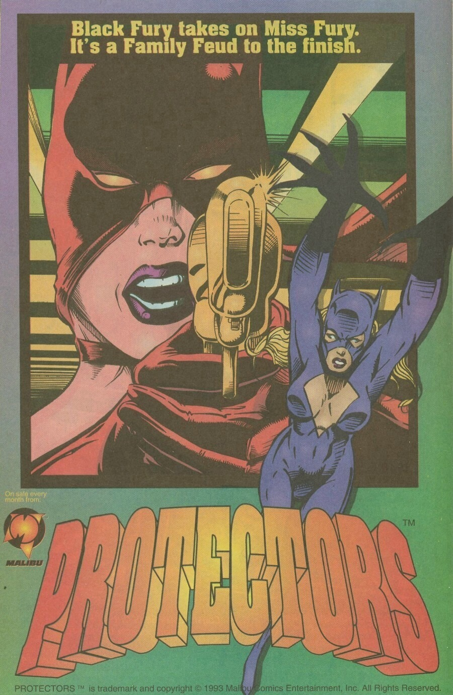Read online Ex-Mutants comic -  Issue #9 - 12