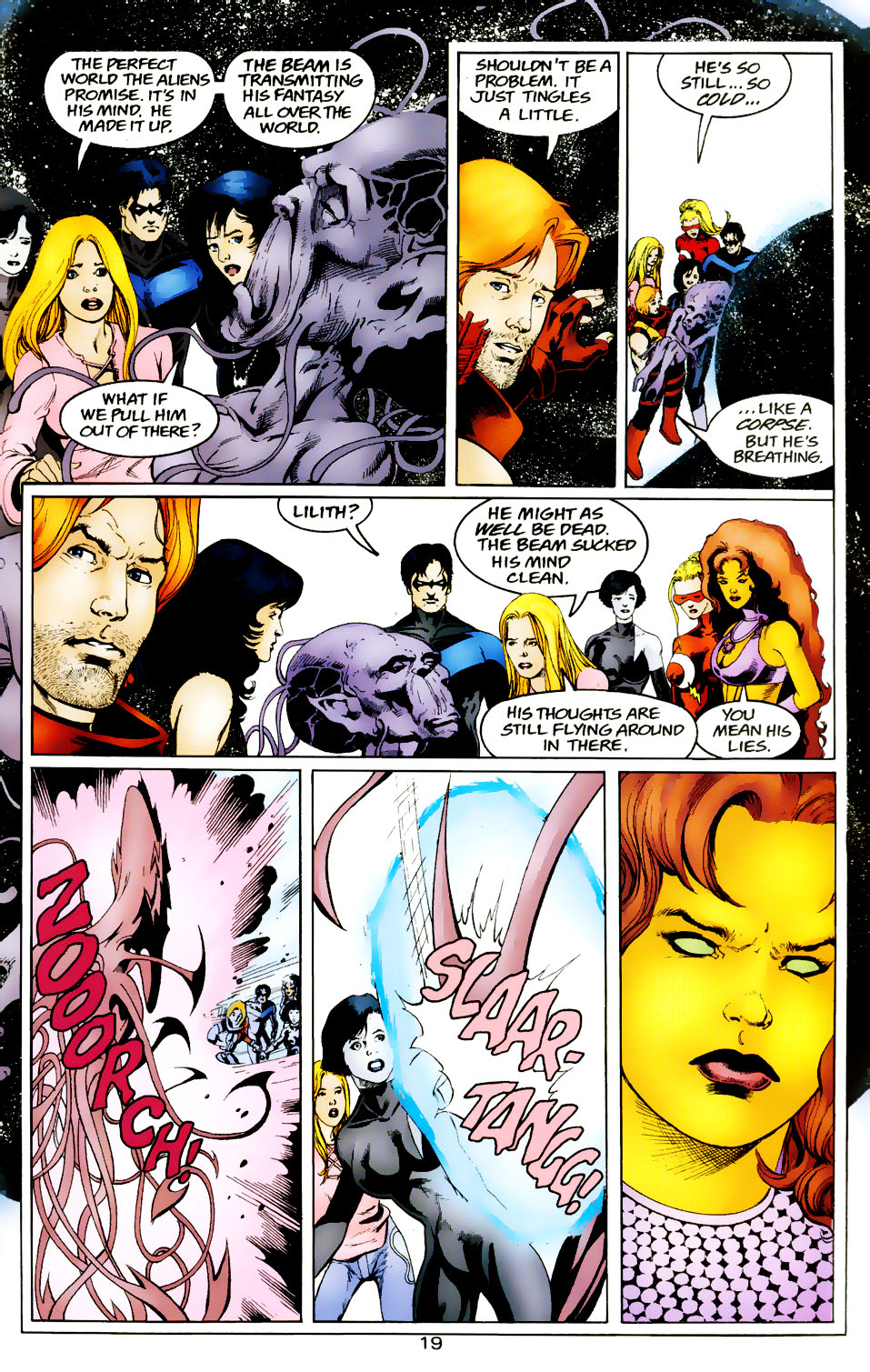 Read online The Titans (1999) comic -  Issue #50 - 20