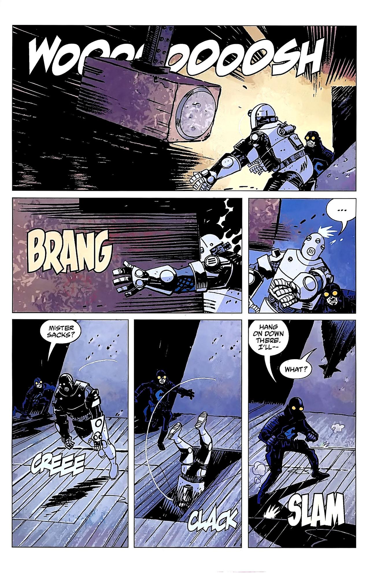 Read online Lobster Johnson: The Iron Prometheus comic -  Issue #2 - 10