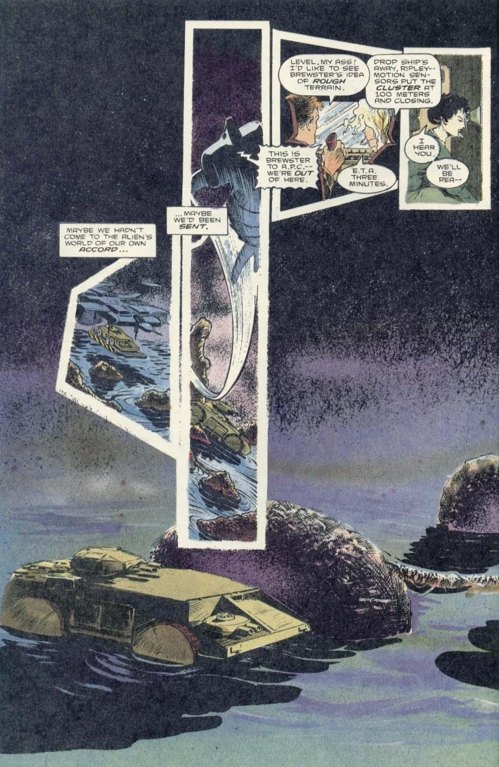 Read online Aliens: Earth War comic -  Issue #3 - 8