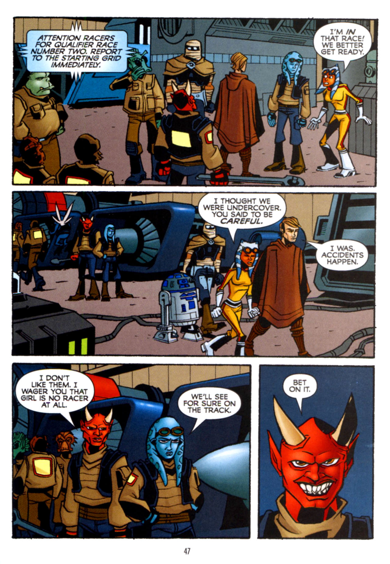 Read online Star Wars: The Clone Wars - Crash Course comic -  Issue # Full - 48