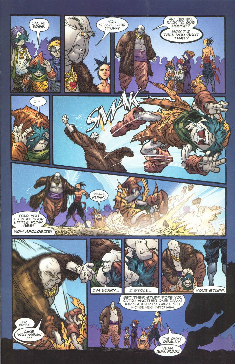 Read online Ninja Boy comic -  Issue #4 - 15