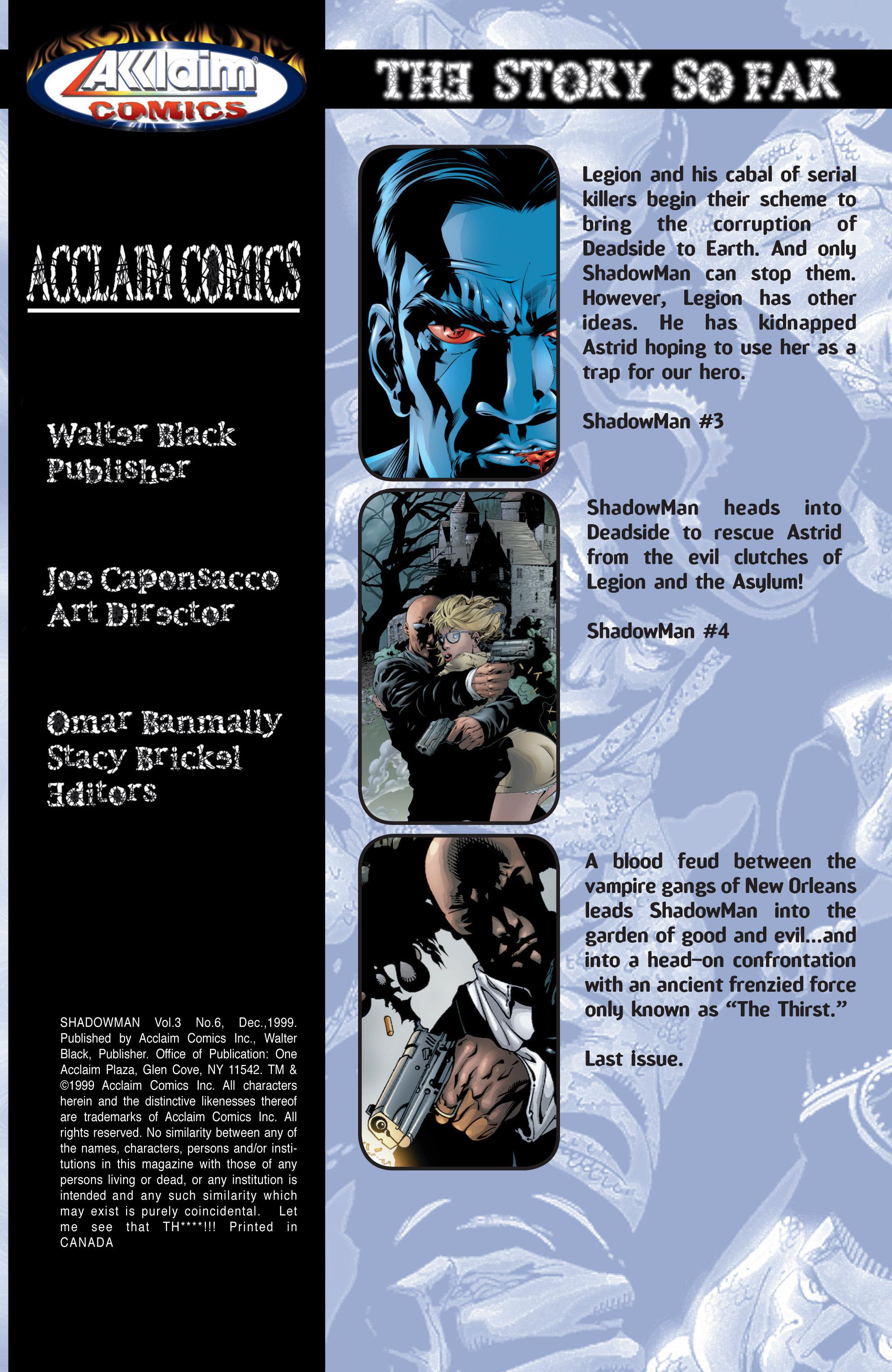 Read online Shadowman (1999) comic -  Issue #6 - 2