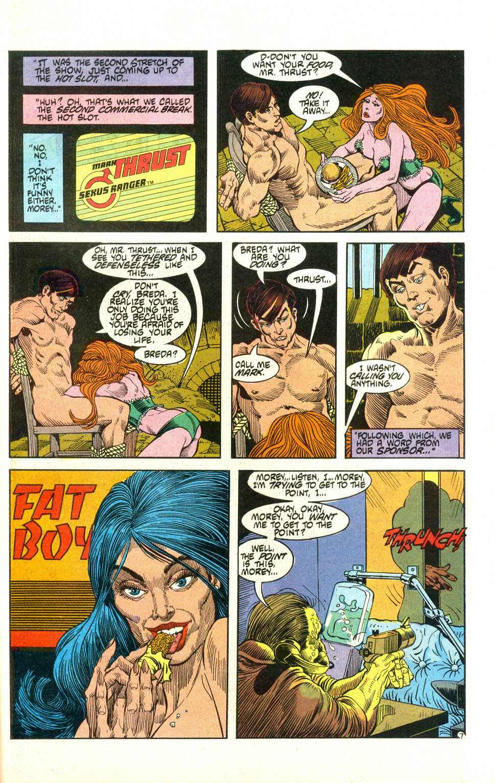Read online American Flagg! comic -  Issue #21 - 30