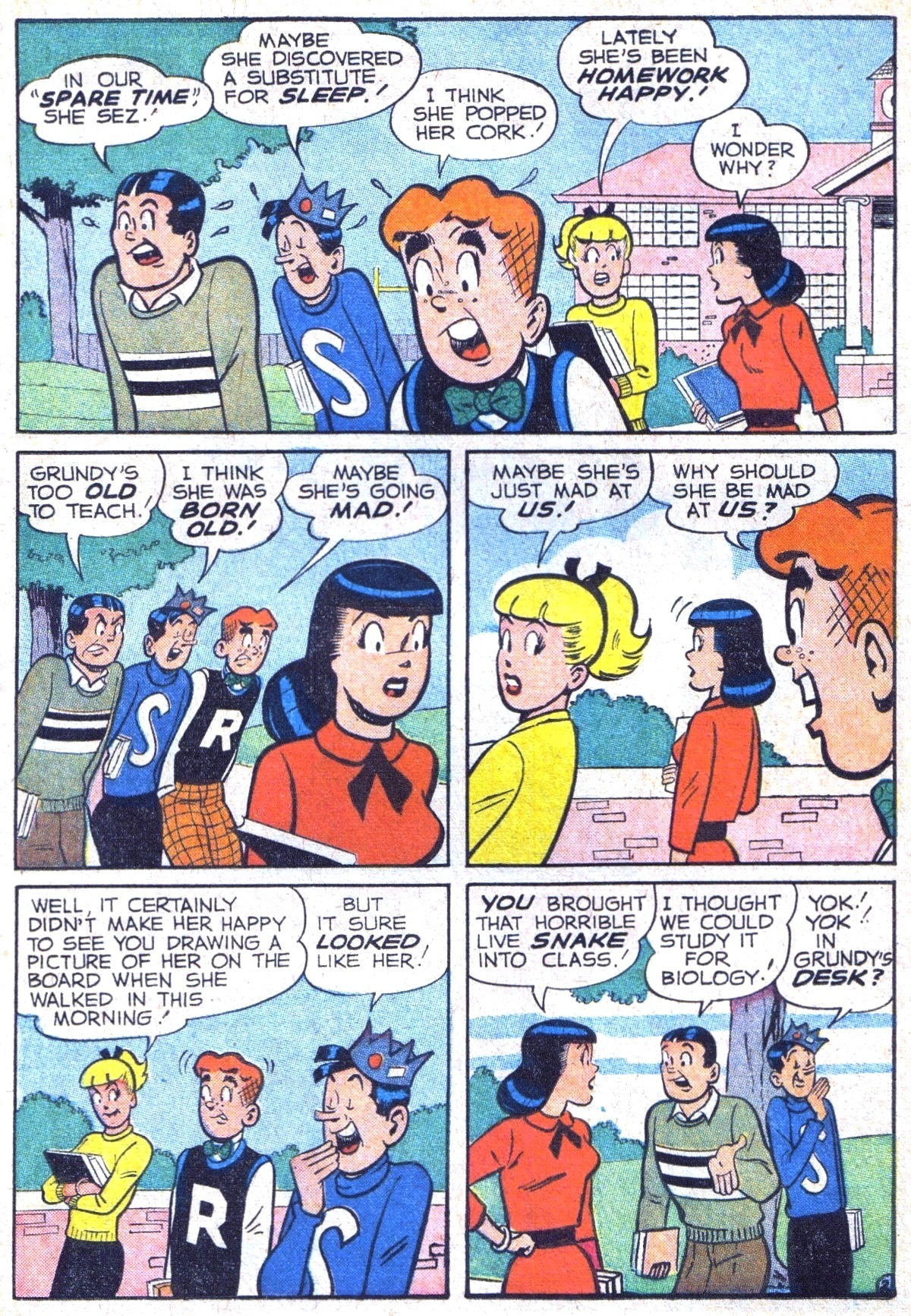Read online Archie (1960) comic -  Issue #116 - 14