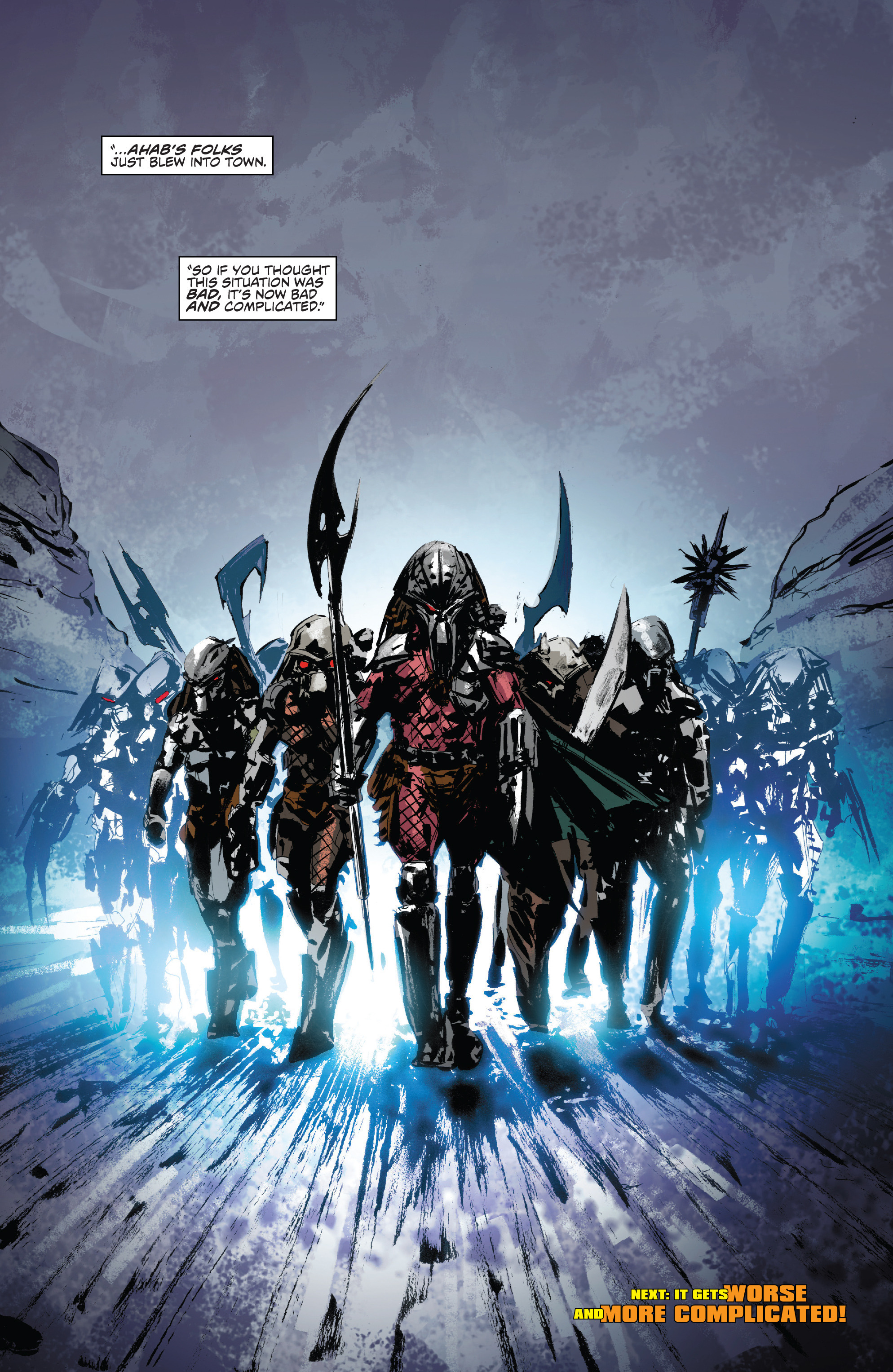 Read online Alien Vs. Predator: Life and Death comic -  Issue #1 - 28