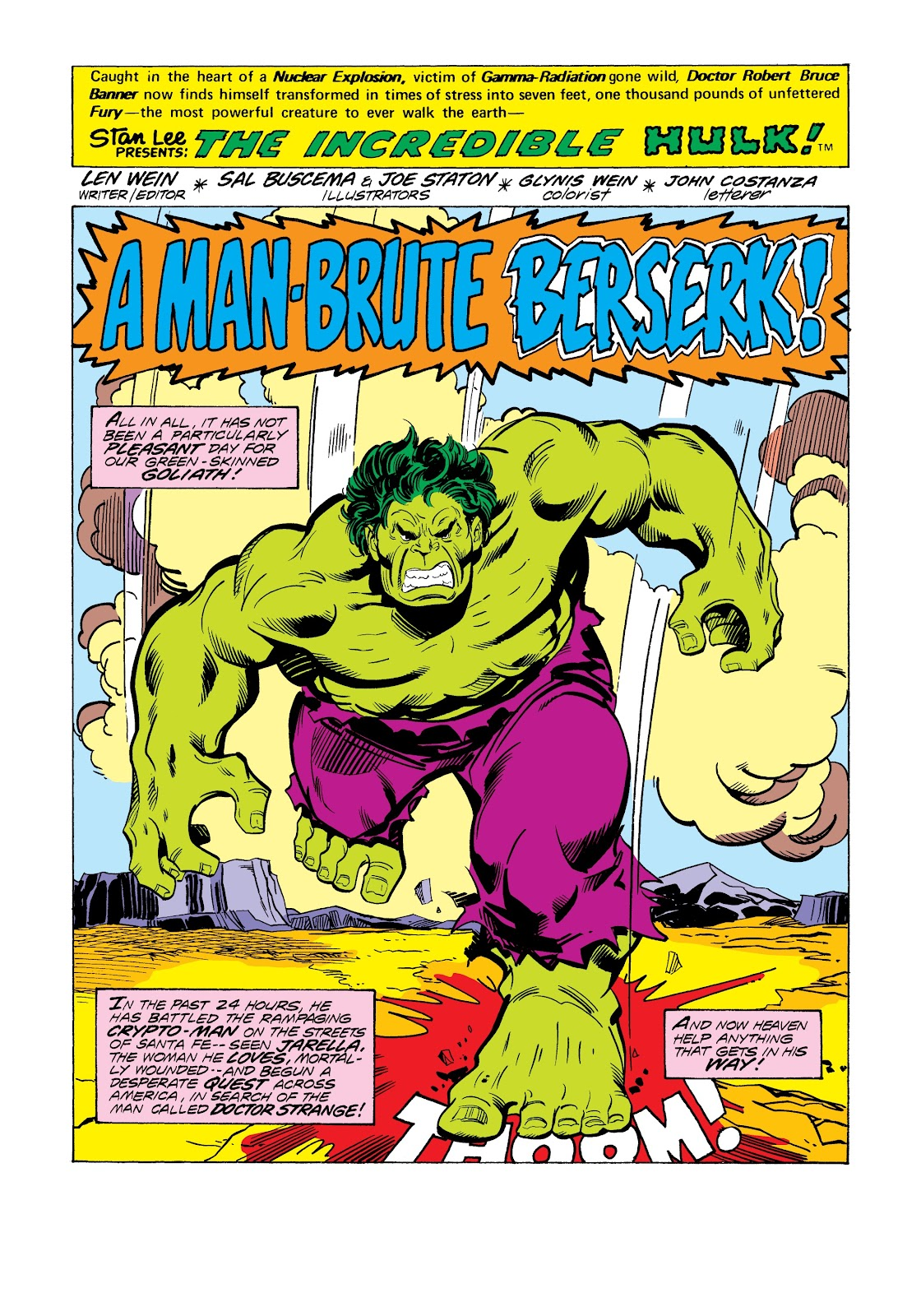 Read online Marvel Masterworks: The Incredible Hulk comic -  Issue # TPB 12 (Part 3) - 11