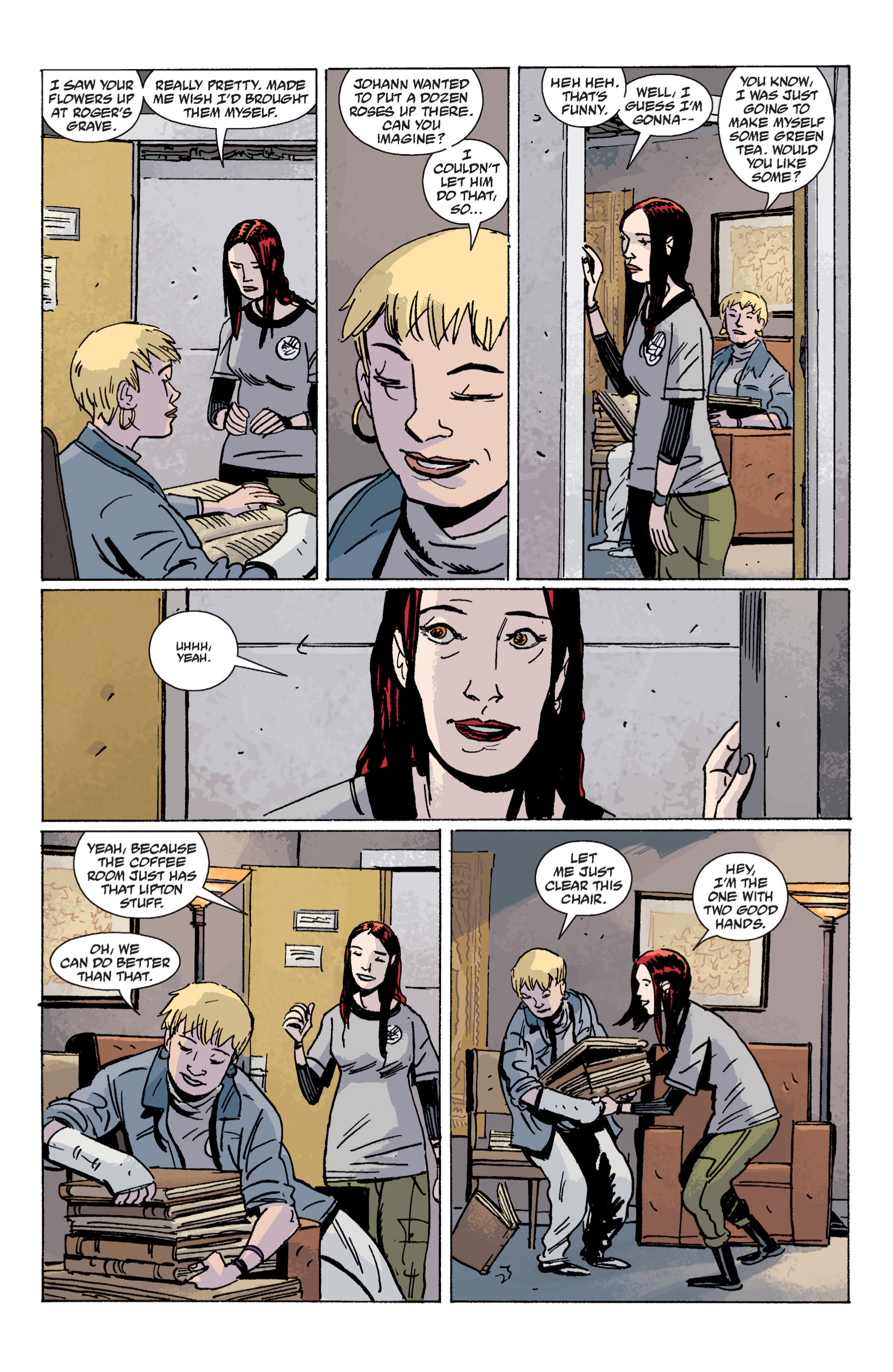 Read online B.P.R.D. (2003) comic -  Issue # TPB 7 - 30