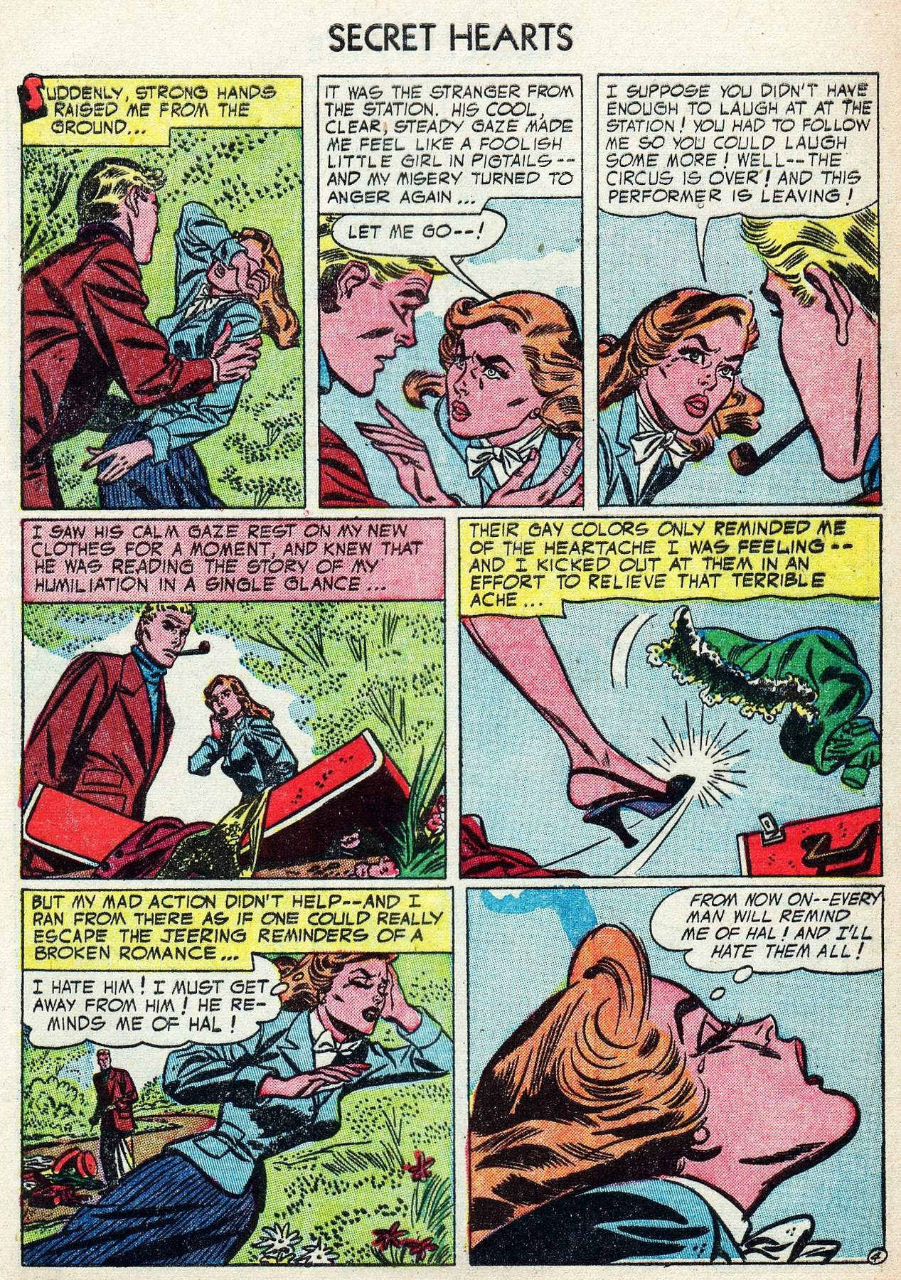 Read online Secret Hearts comic -  Issue #25 - 29