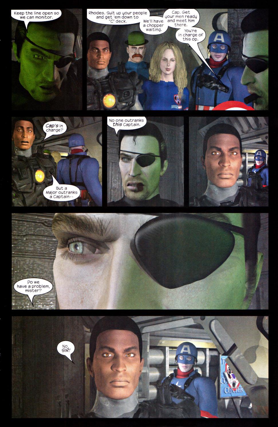 Read online U.S. War Machine 2.0 comic -  Issue #2 - 19