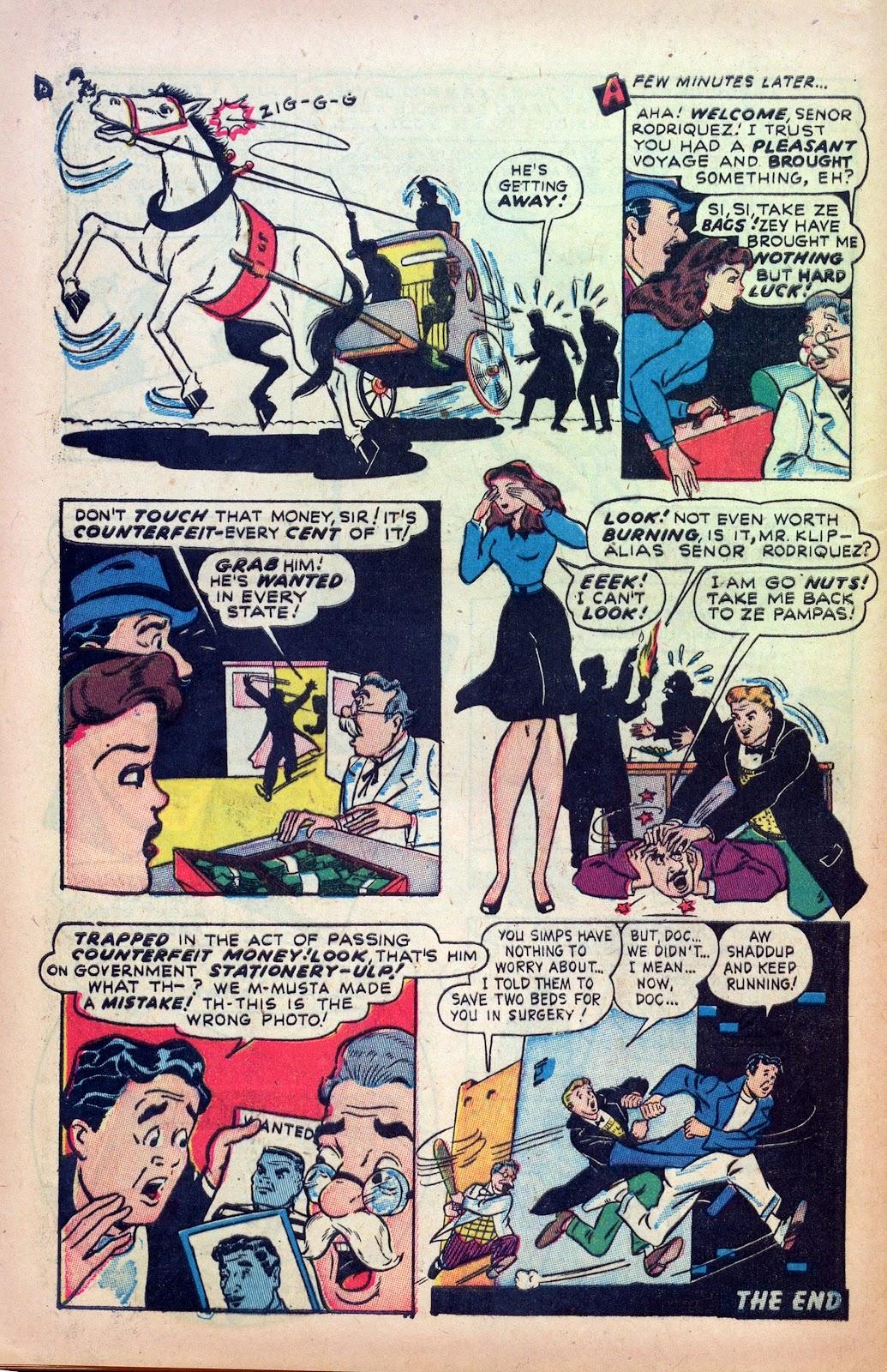 Read online Joker Comics comic -  Issue #29 - 32