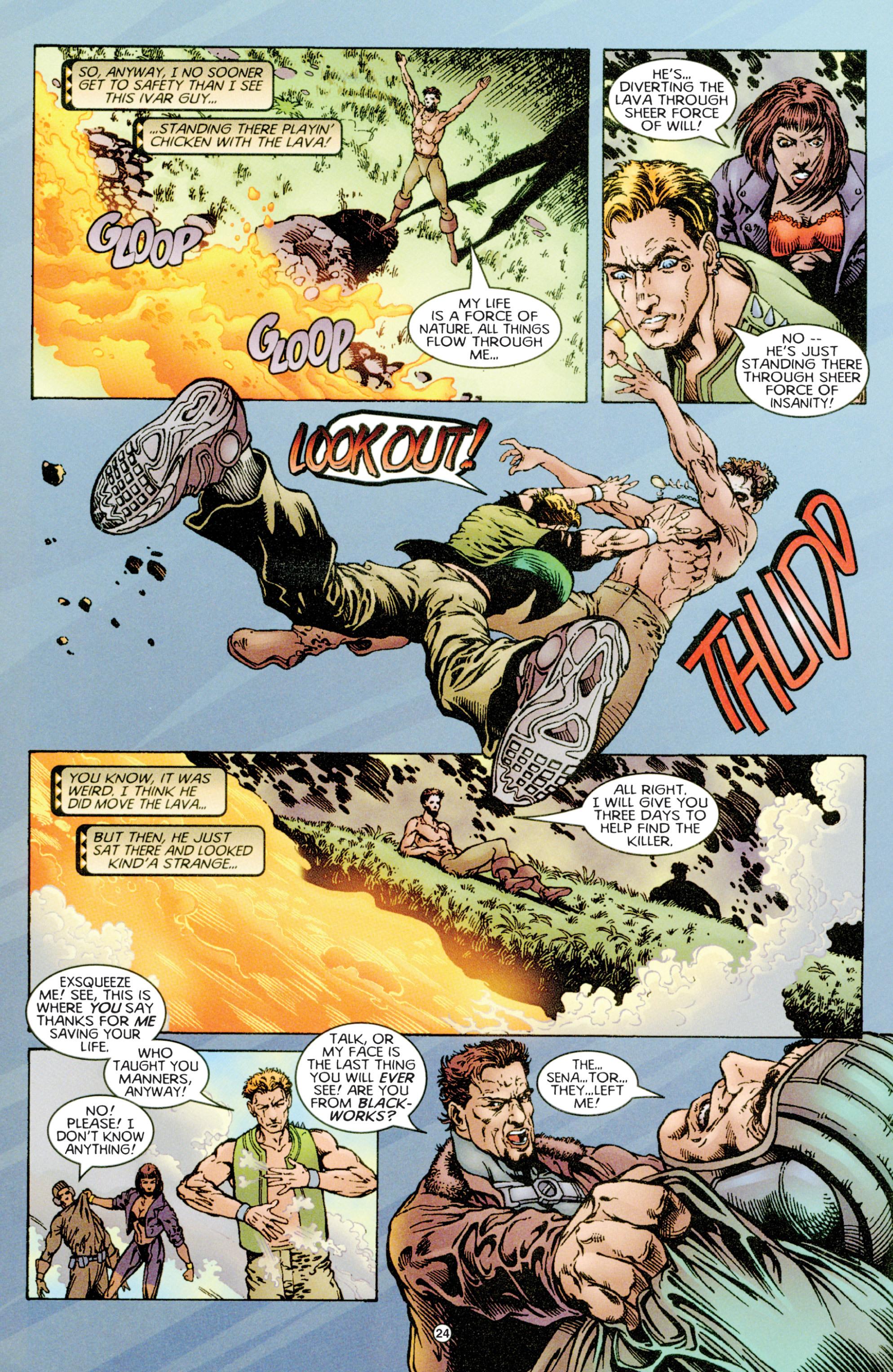Read online Eternal Warriors comic -  Issue # Issue Time & Treachery - 23