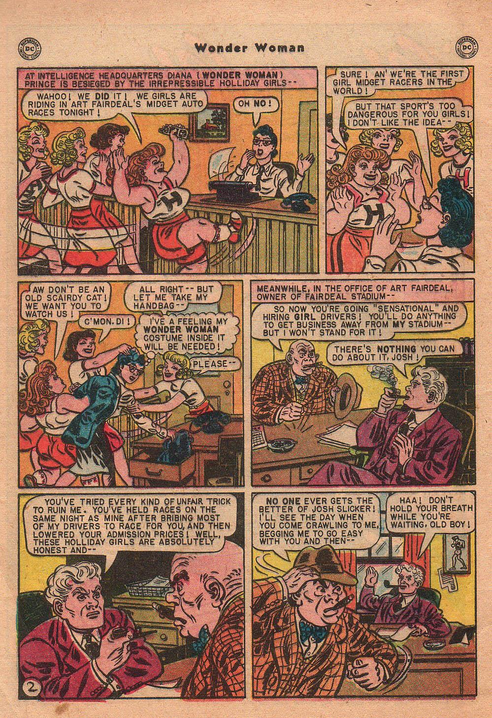 Read online Wonder Woman (1942) comic -  Issue #42 - 5