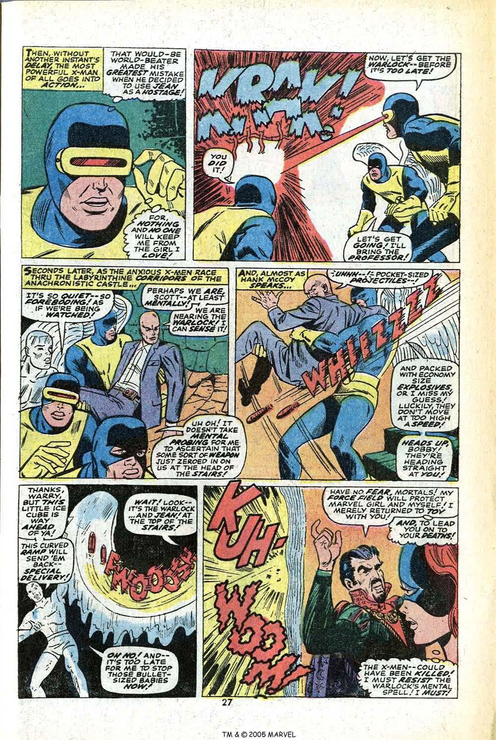 Read online Uncanny X-Men (1963) comic -  Issue #78 - 29