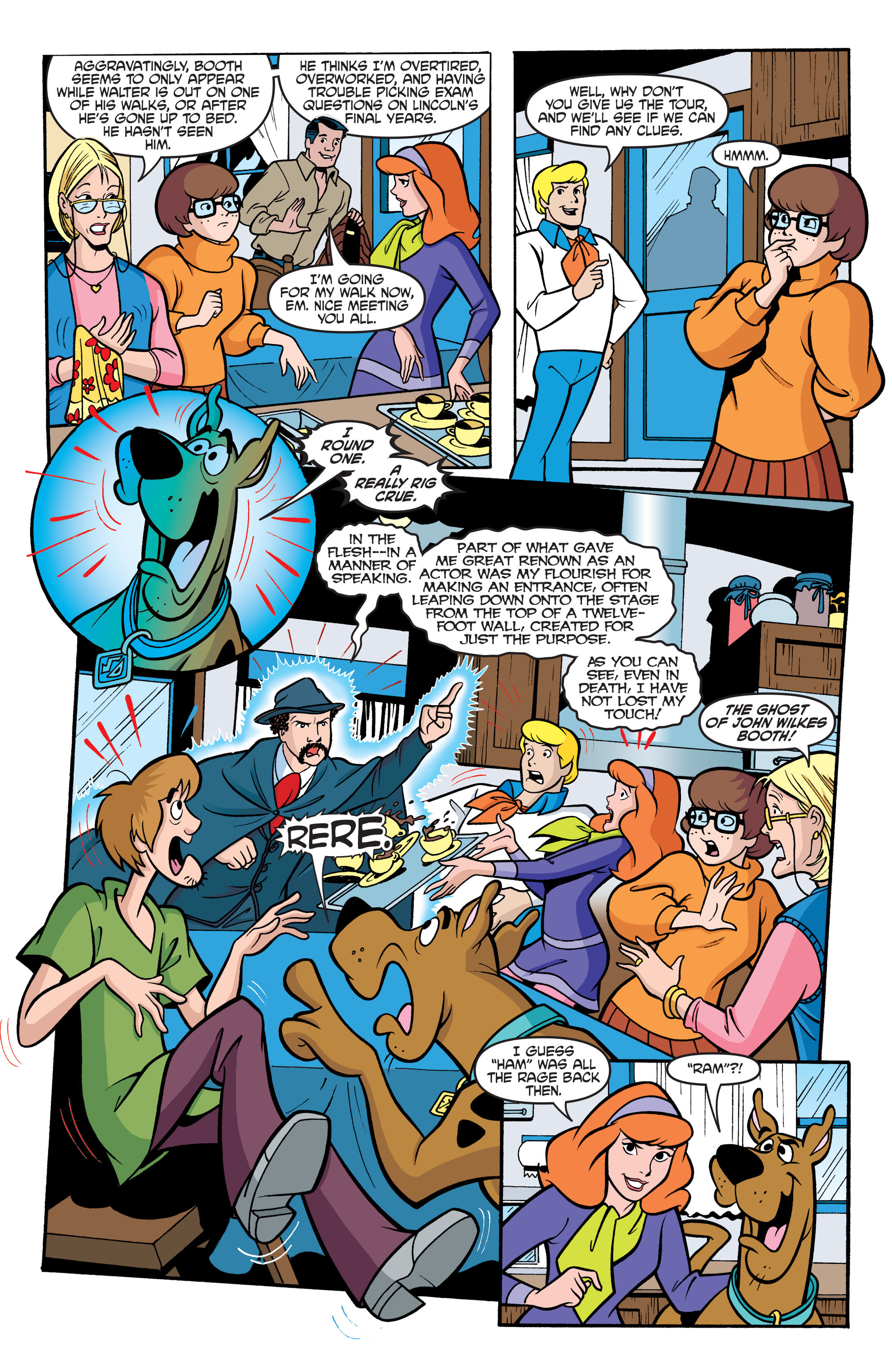 Read online Scooby-Doo: Where Are You? comic -  Issue #61 - 17