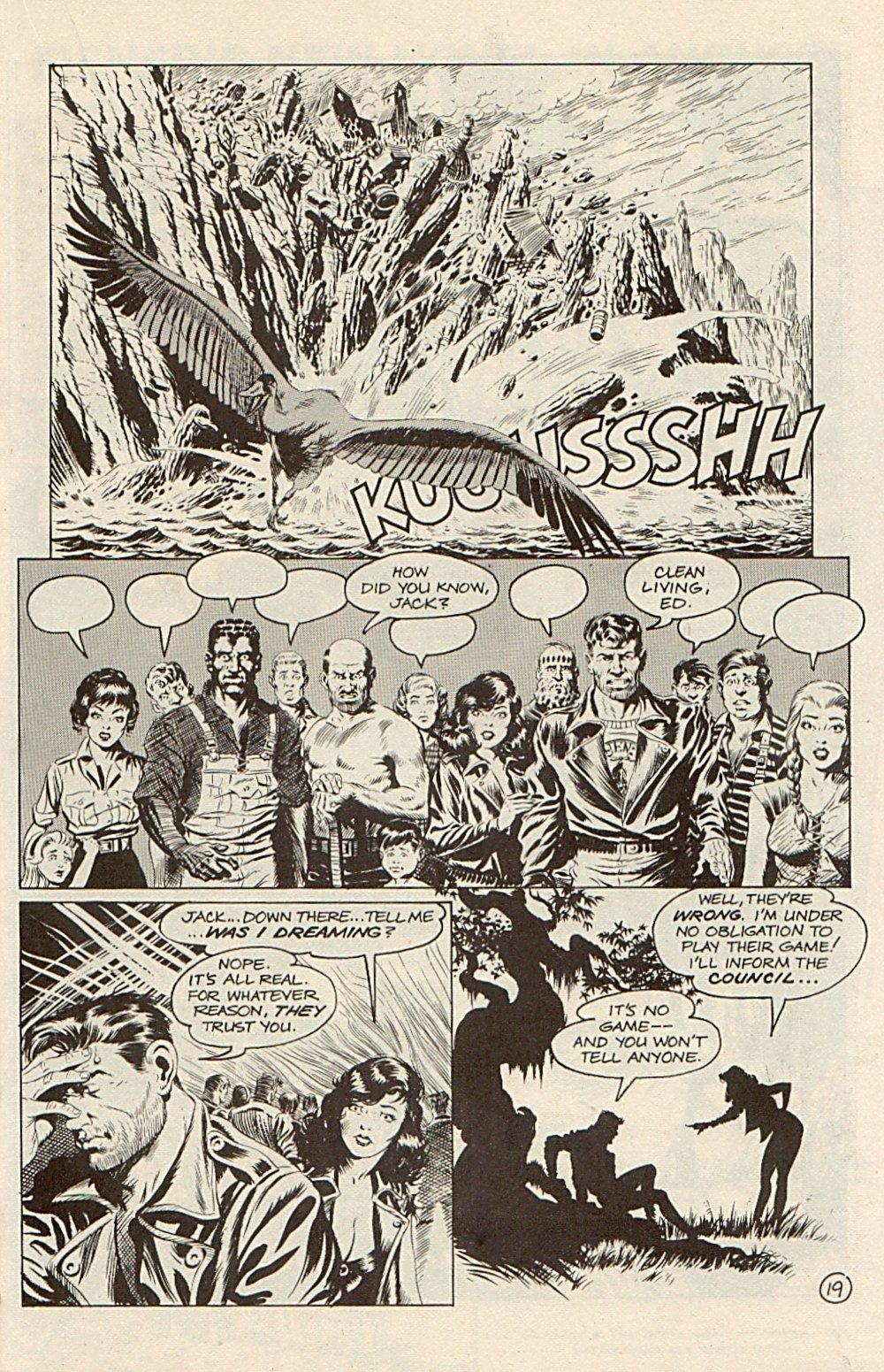 Read online Xenozoic Tales comic -  Issue #3 - 22