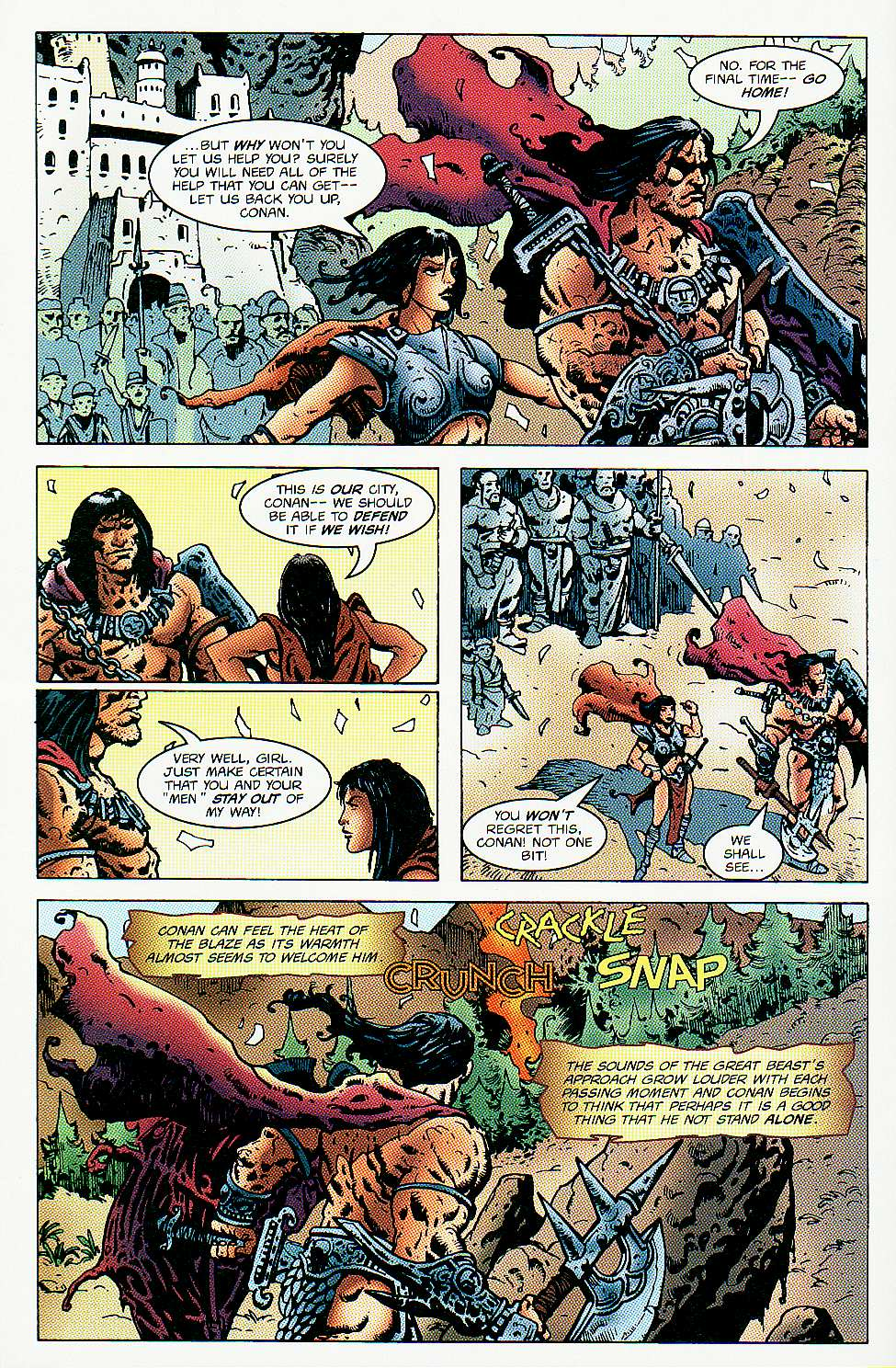 Read online Conan: Return of Styrm comic -  Issue #3 - 7