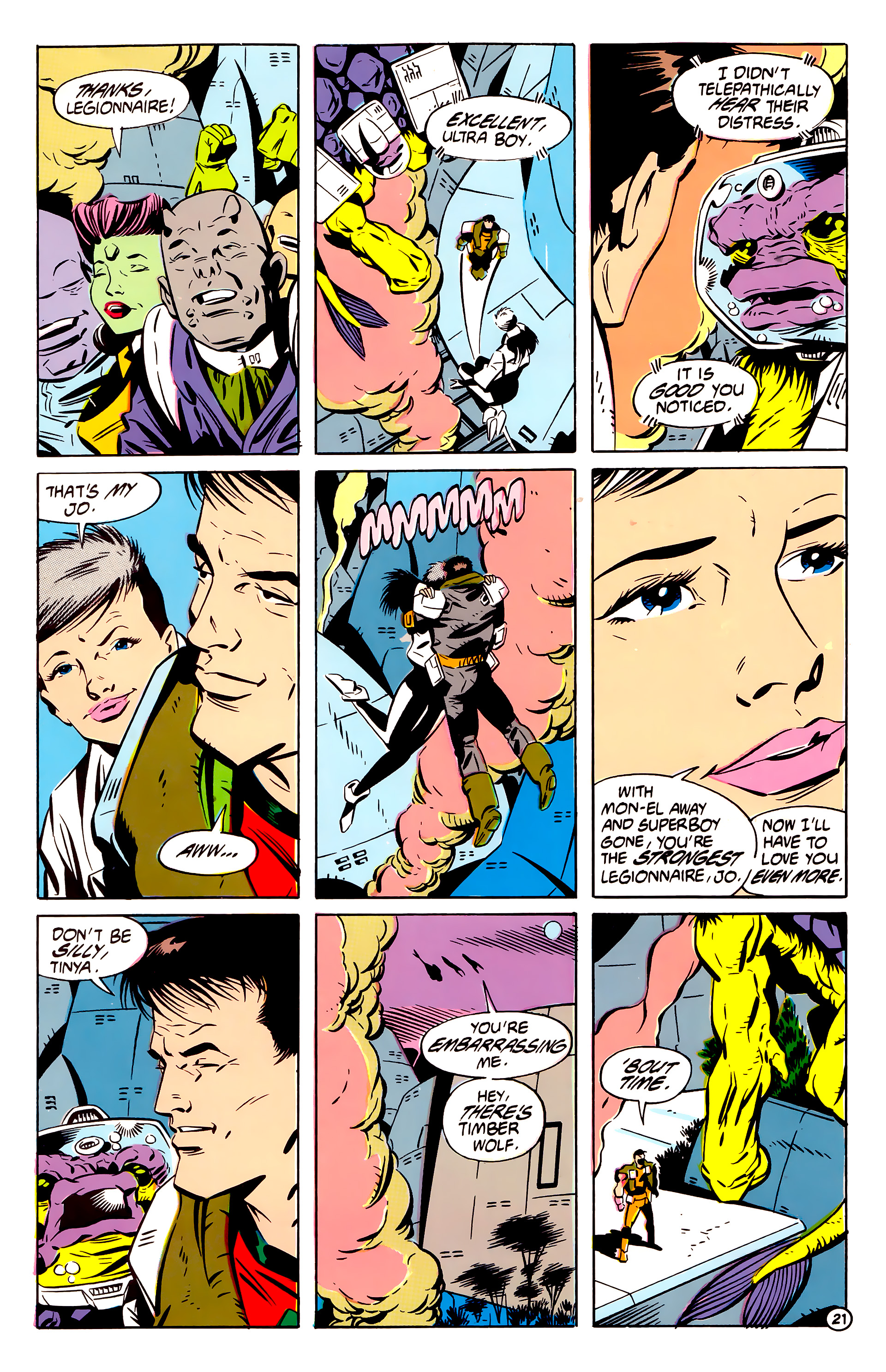 Legion of Super-Heroes (1984) 61 Page 21