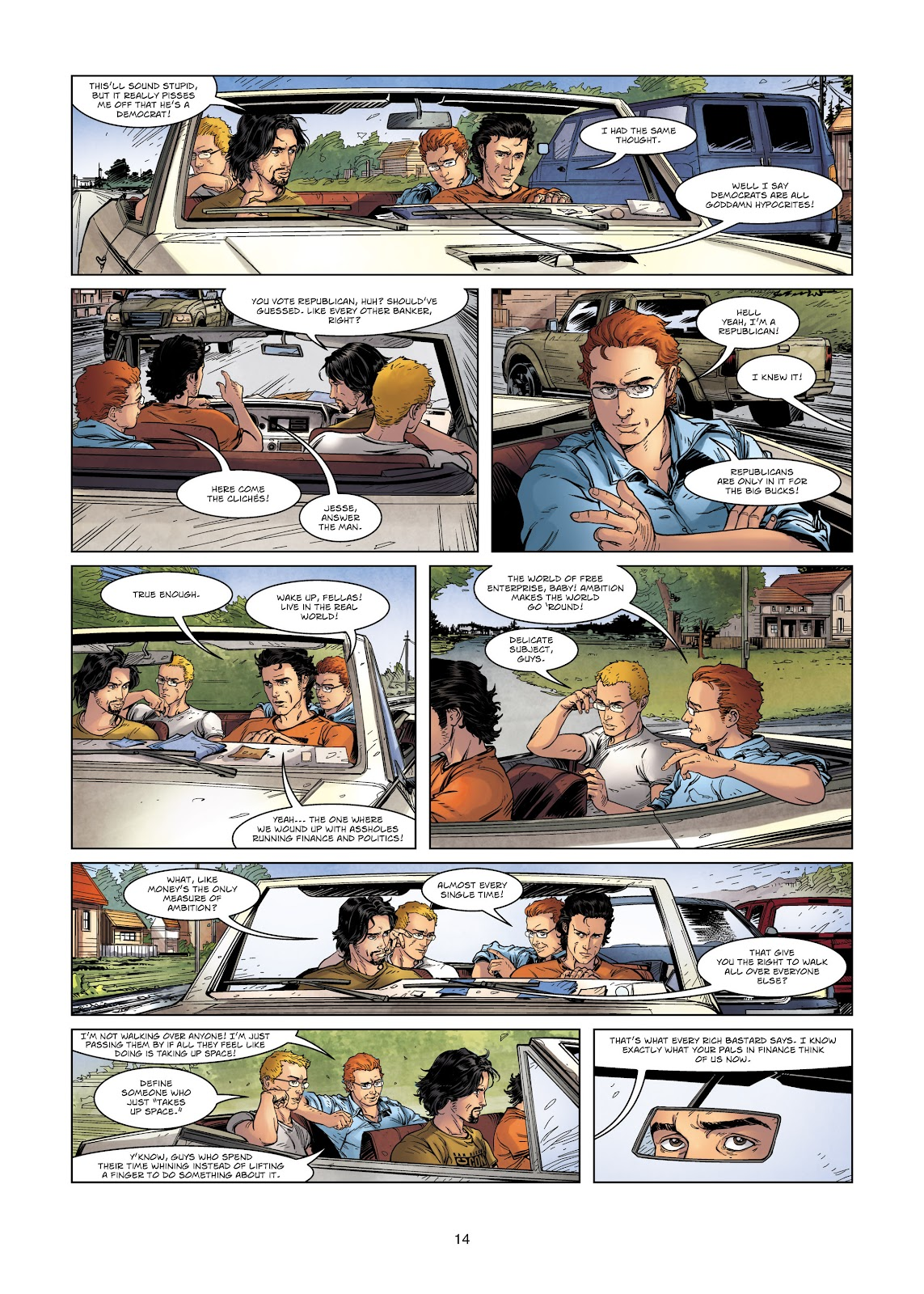 Read online Vigilantes comic -  Issue #2 - 14