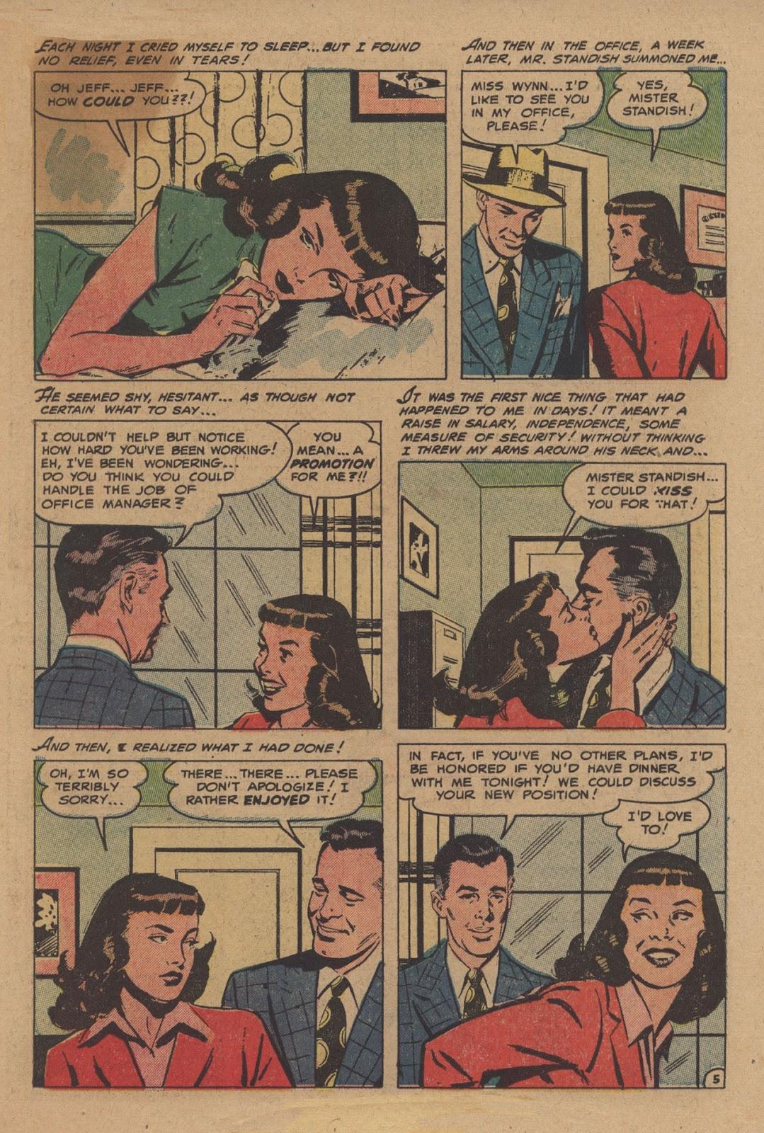 Love Romances (1949) issue 28 - Page 7