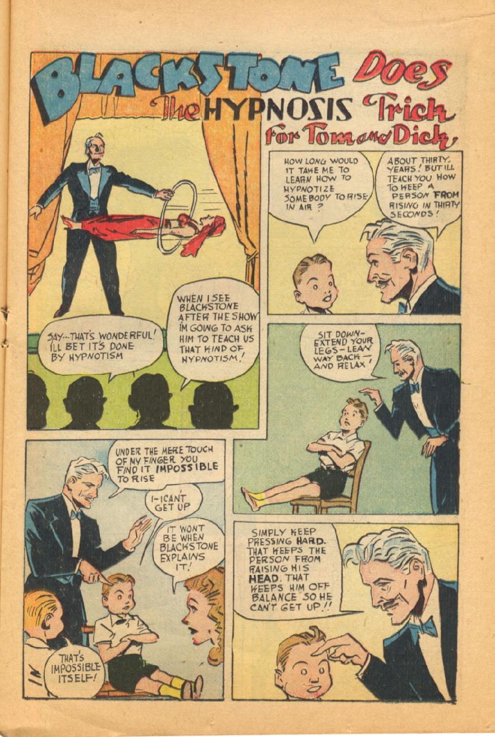 Read online Super-Magician Comics comic -  Issue #44 - 17