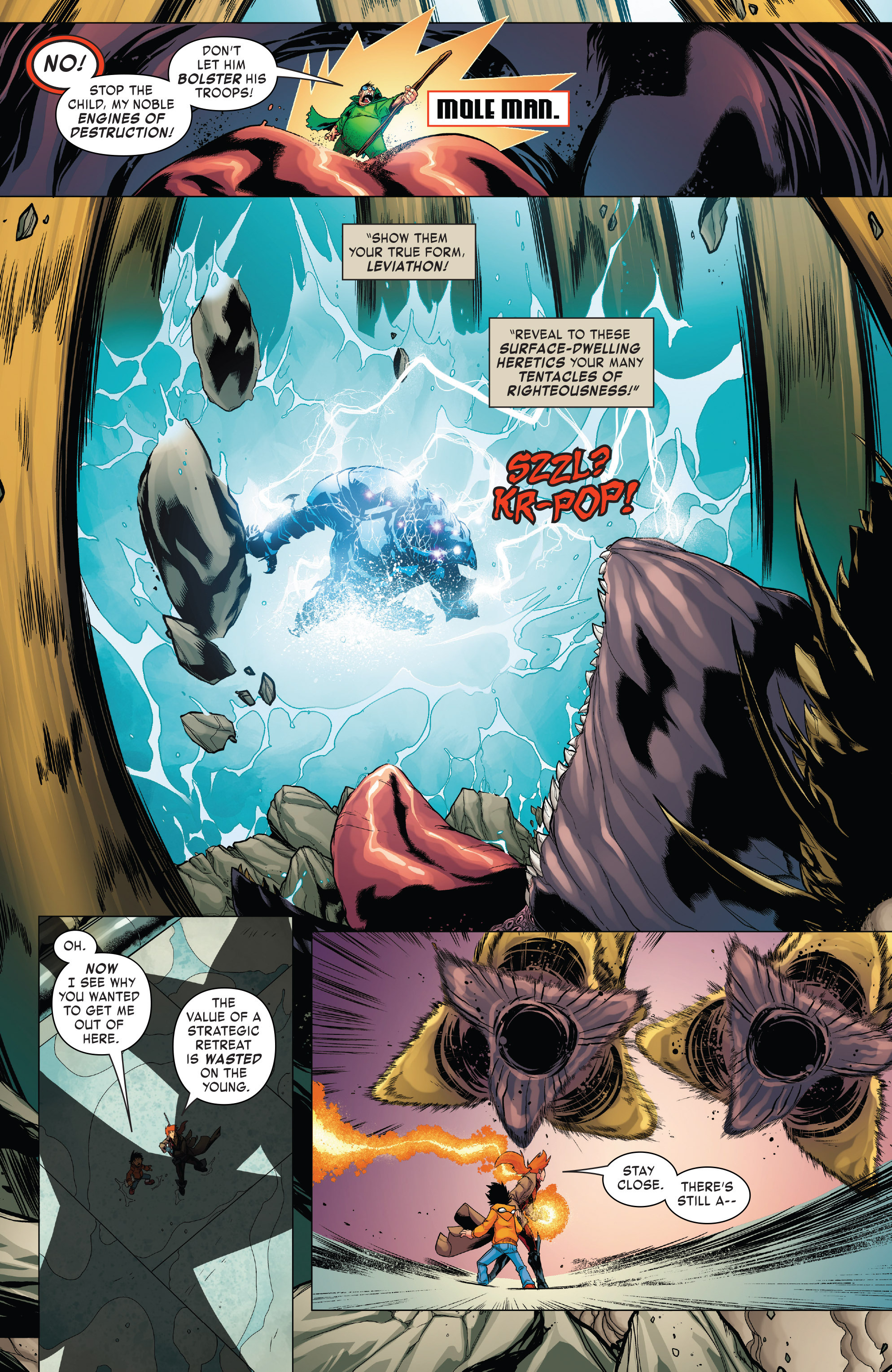 Read online Monsters Unleashed II comic -  Issue #2 - 6