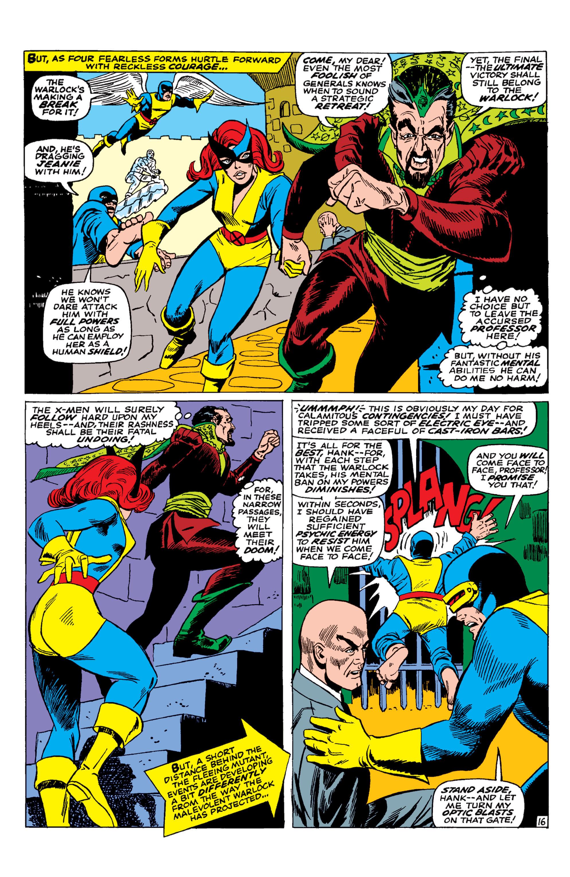 Uncanny X-Men (1963) 30 Page 16