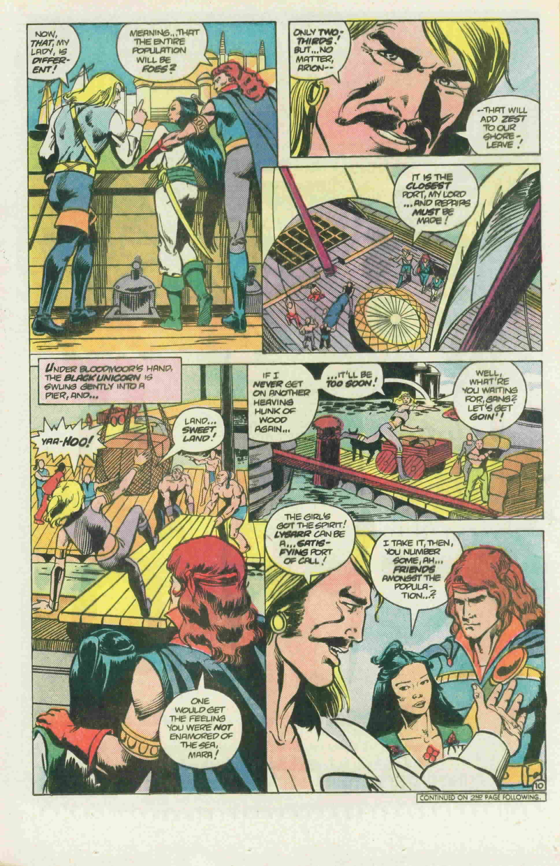 Read online Arion, Lord of Atlantis comic -  Issue #22 - 14