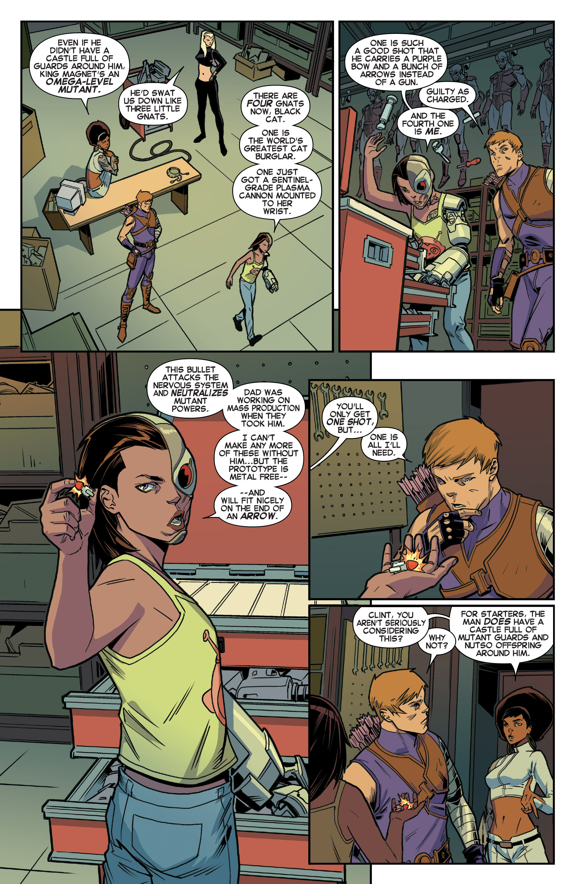 Read online House of M (2015) comic -  Issue #2 - 5