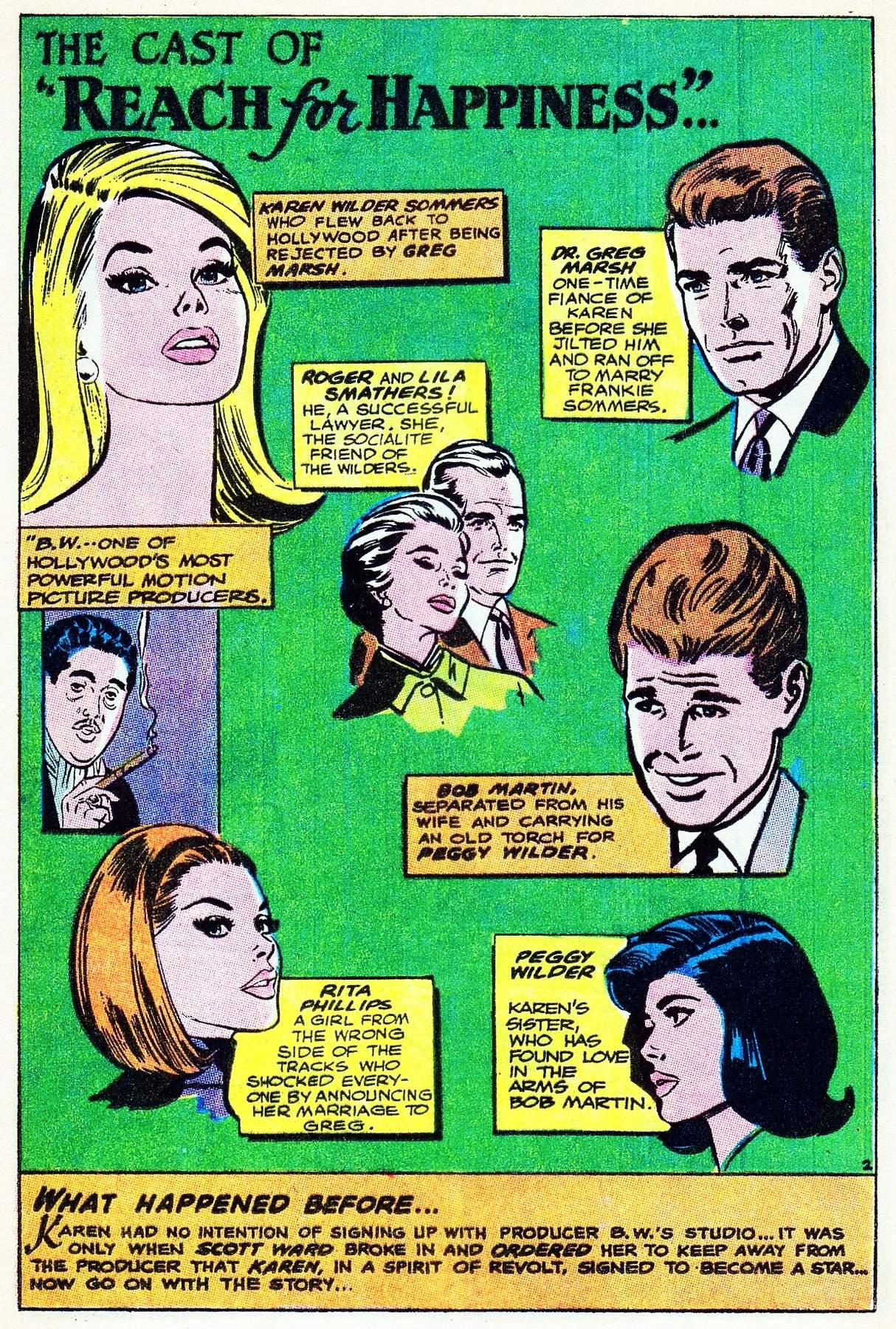 Read online Secret Hearts comic -  Issue #133 - 21