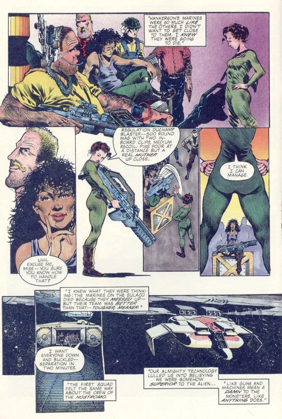 Read online Aliens: Earth War comic -  Issue #1 - 14