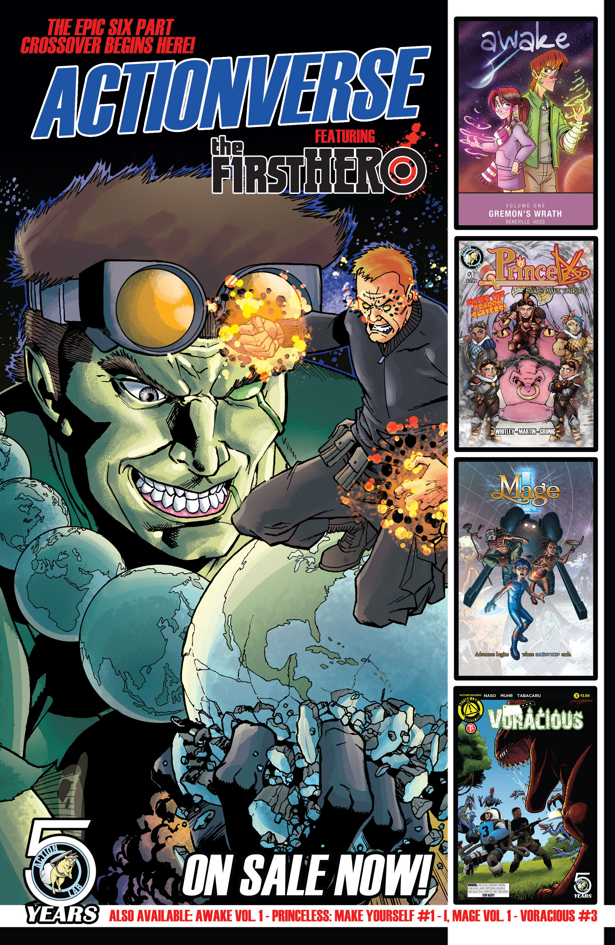 Read online Actionverse comic -  Issue #1 - 30