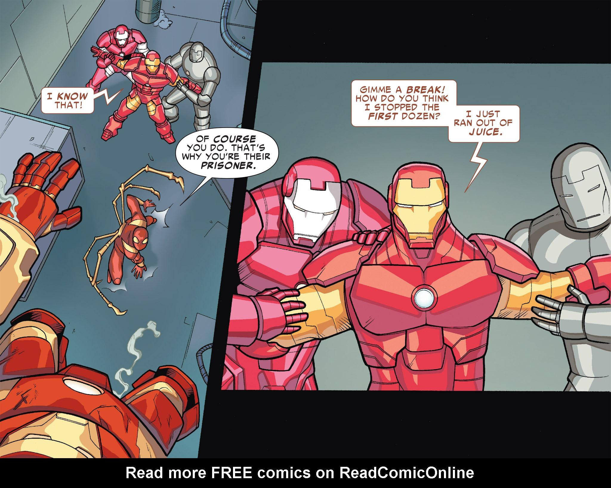 Read online Ultimate Spider-Man (Infinite Comics) (2016) comic -  Issue #5 - 10