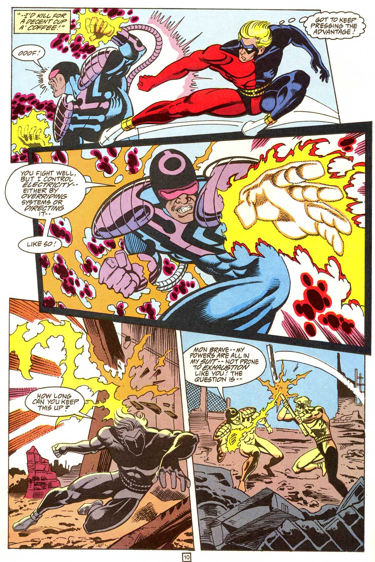 Read online Peter Cannon--Thunderbolt (1992) comic -  Issue #9 - 11