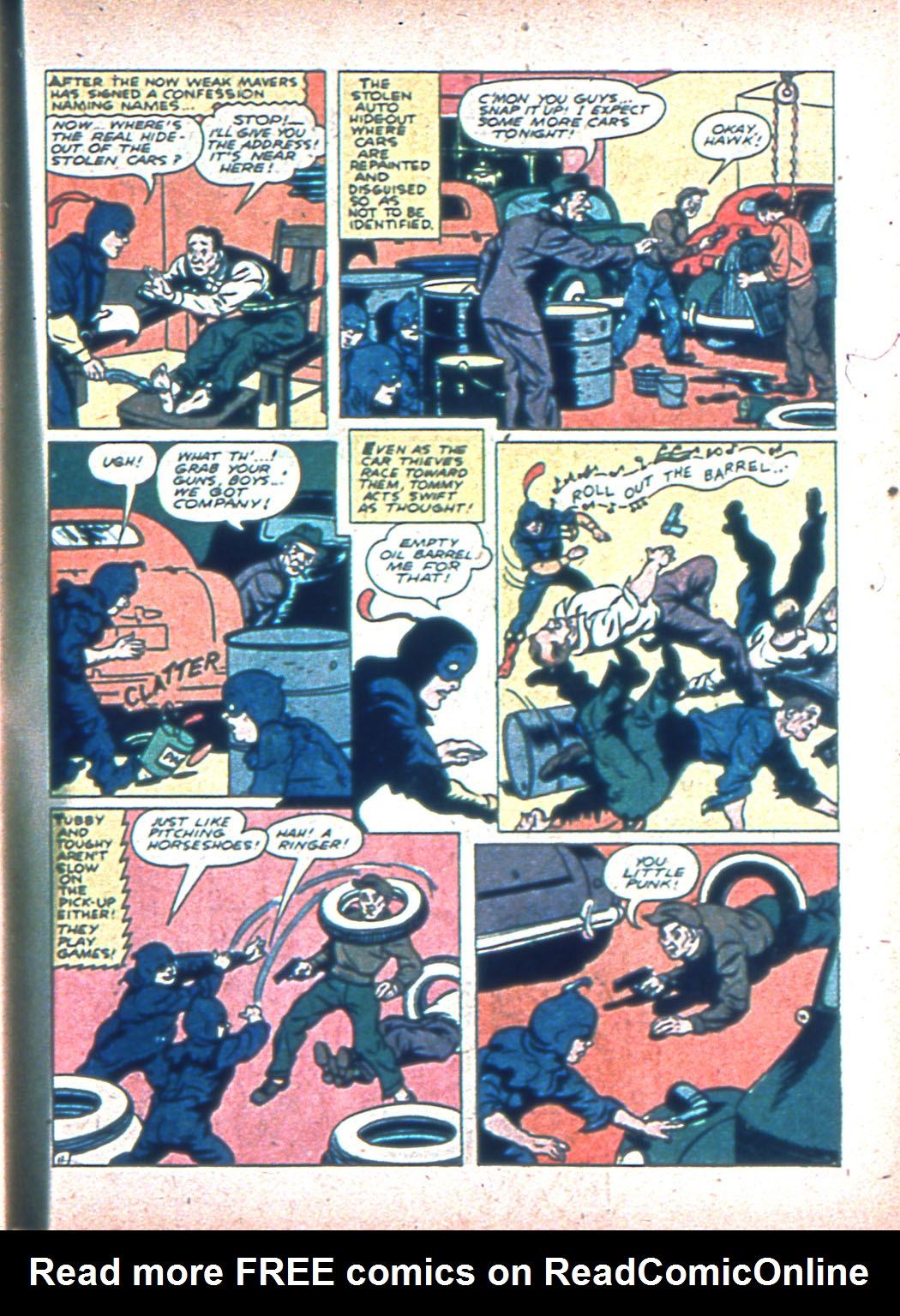 Read online Sensation (Mystery) Comics comic -  Issue #2 - 53