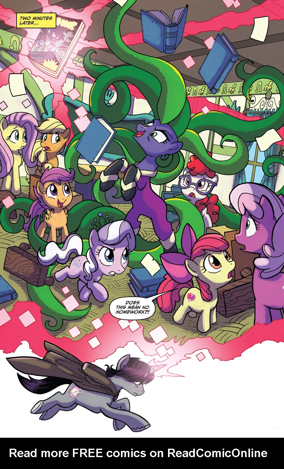 Read online My Little Pony: Friendship is Magic comic -  Issue #52 - 11