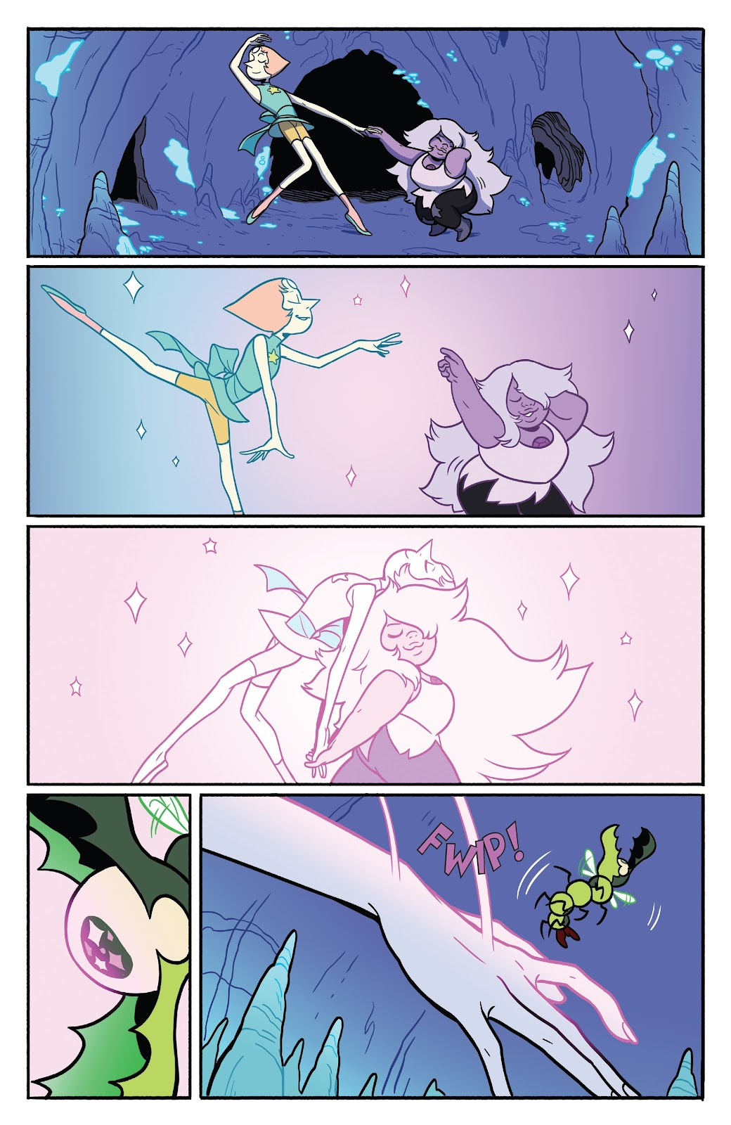 Read online Steven Universe: Fusion Frenzy comic -  Issue # Full - 30