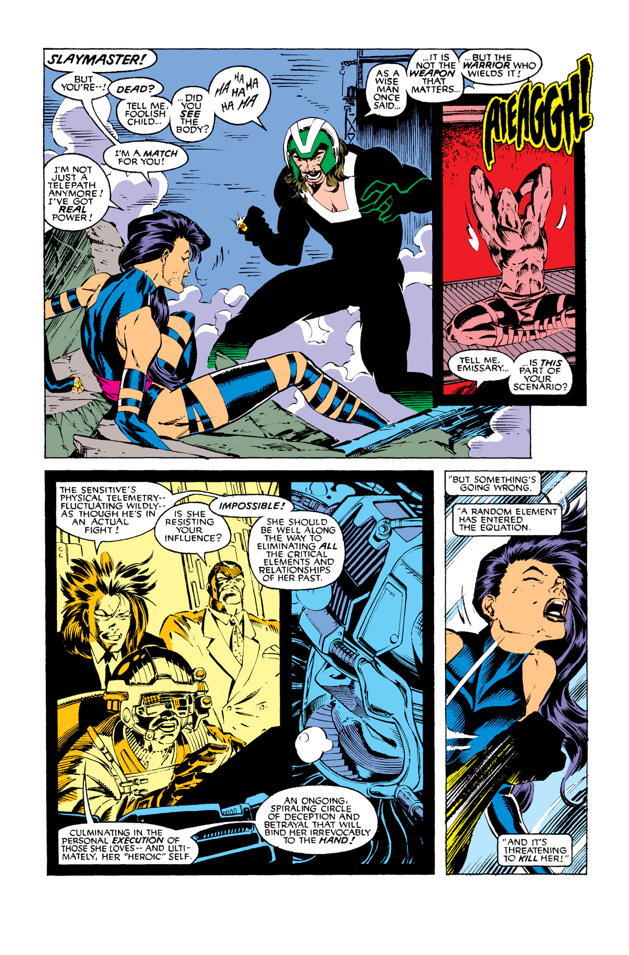 Read online Uncanny X-Men (1963) comic -  Issue #256 - 20