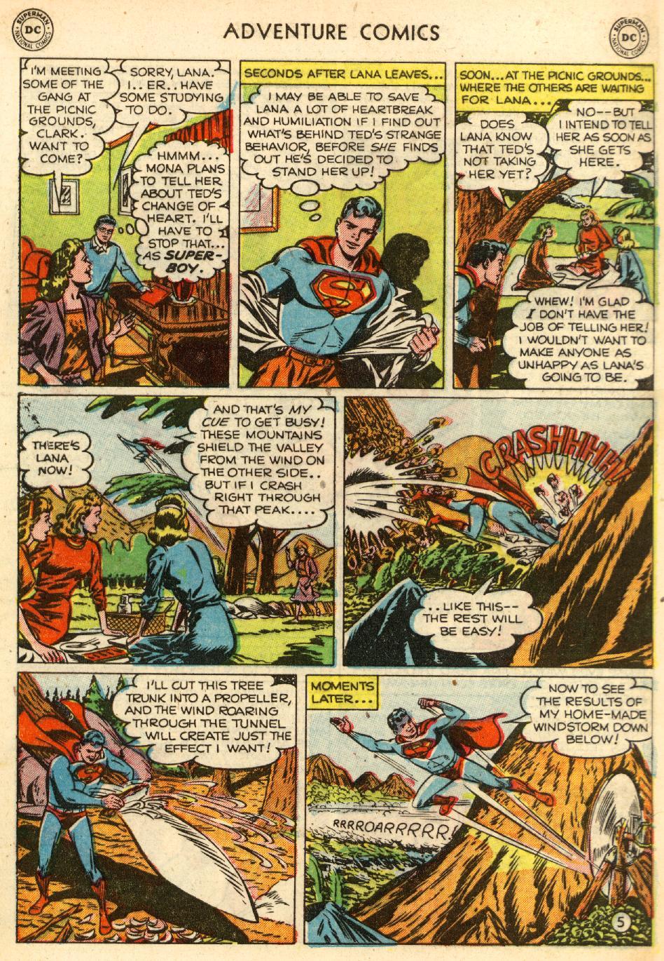 Read online Adventure Comics (1938) comic -  Issue #170 - 7