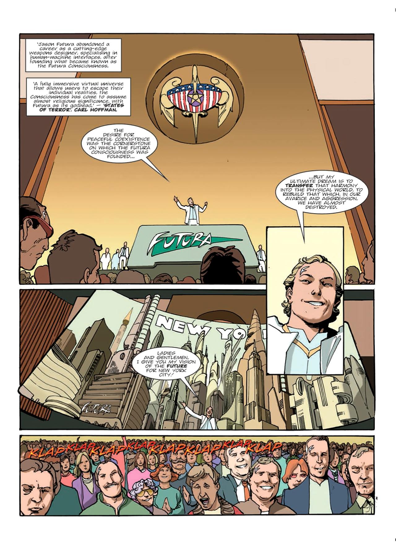 Read online Nikolai Dante comic -  Issue # TPB 9 - 21